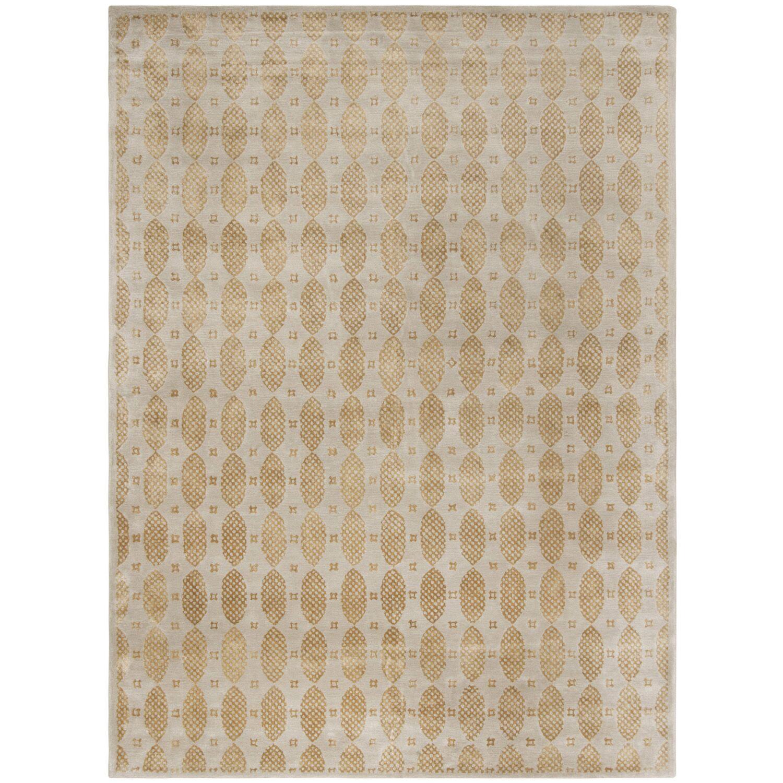 Martha Stewart Bayou Green Area Rug Rug Size: Rectangle 5'6