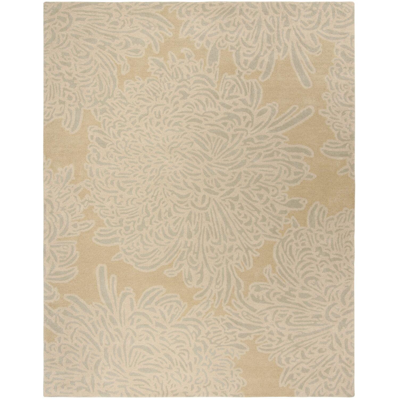 Martha Stewart Chrysanthemum Tufted / Hand Loomed Area Rug Rug Size: Rectangle 4' x 6'