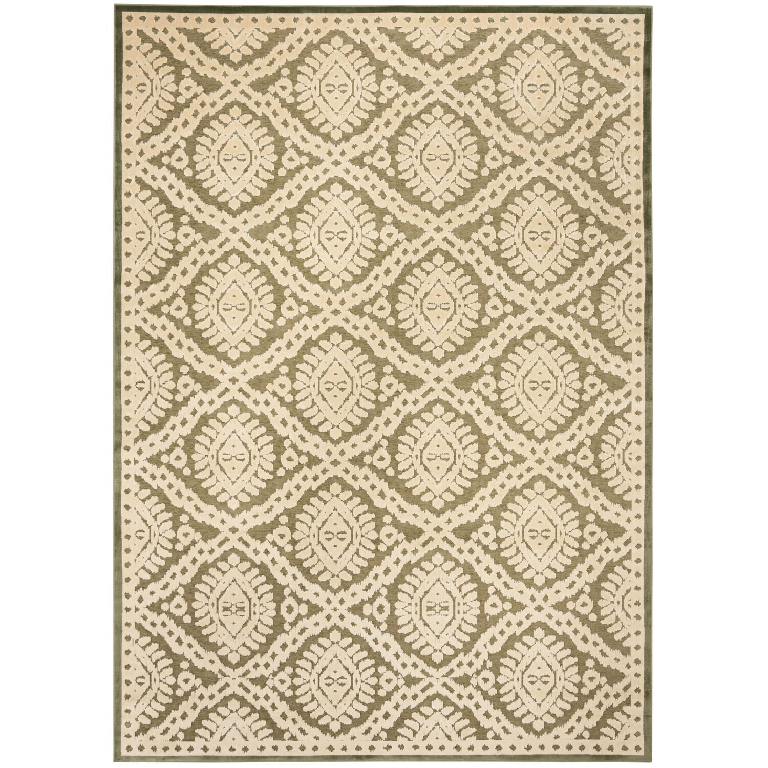 Hand-Loomed Dill Area Rug Rug Size: Rectangle 8' x 11'2