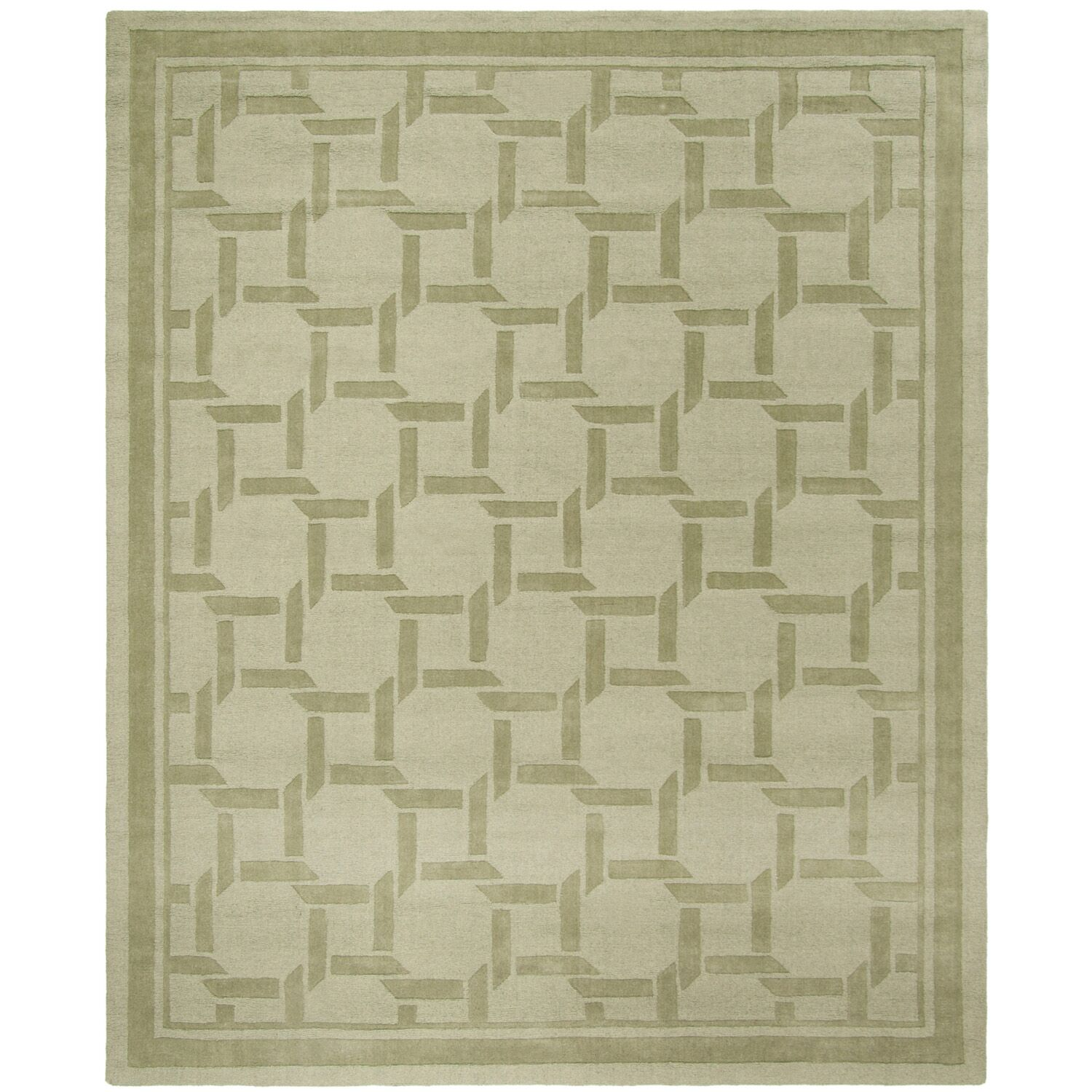 Resort Hand-Loomed Pumpkin Seed Area Rug Rug Size: Rectangle 8' x 10'