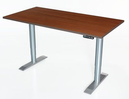 Vox Height Adjustable Training Table Tabletop Finish: Digital Storm, Size: 24