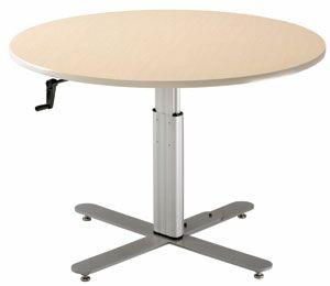 42'' W Progression Height Adjustable Training Table Tabletop Finish: Digital Storm