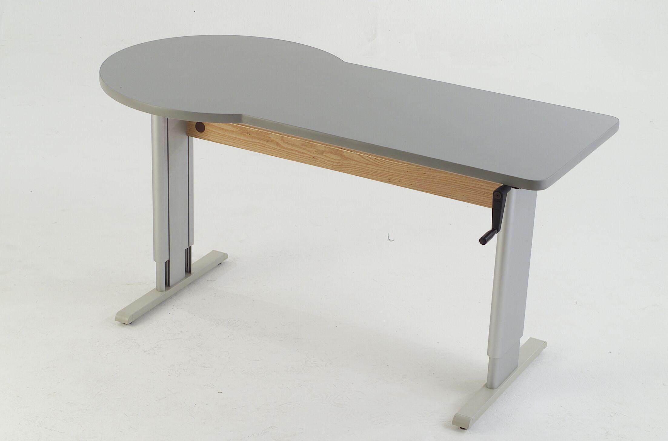 60'' W Maciejewski Height Adjustable Training Table Tabletop Finish: Urban Walnut