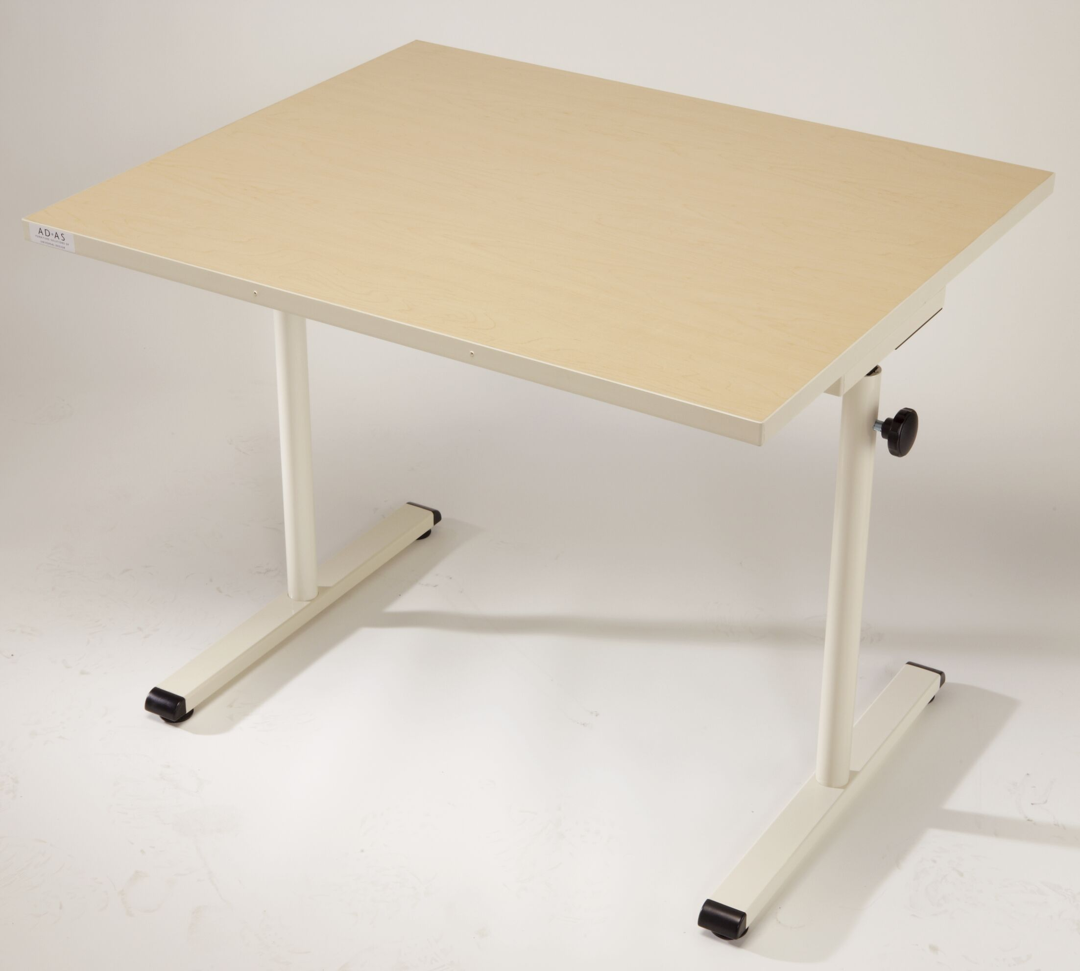 36'' W Height Adjustable Training Table Base Finish: Graphite Silver, Tabletop Finish: Digital Storm