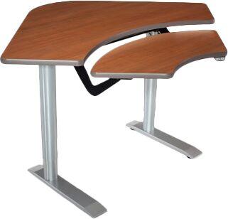 59'' W Vox Height Adjustable Training Table Tabletop Finish: Digital Storm