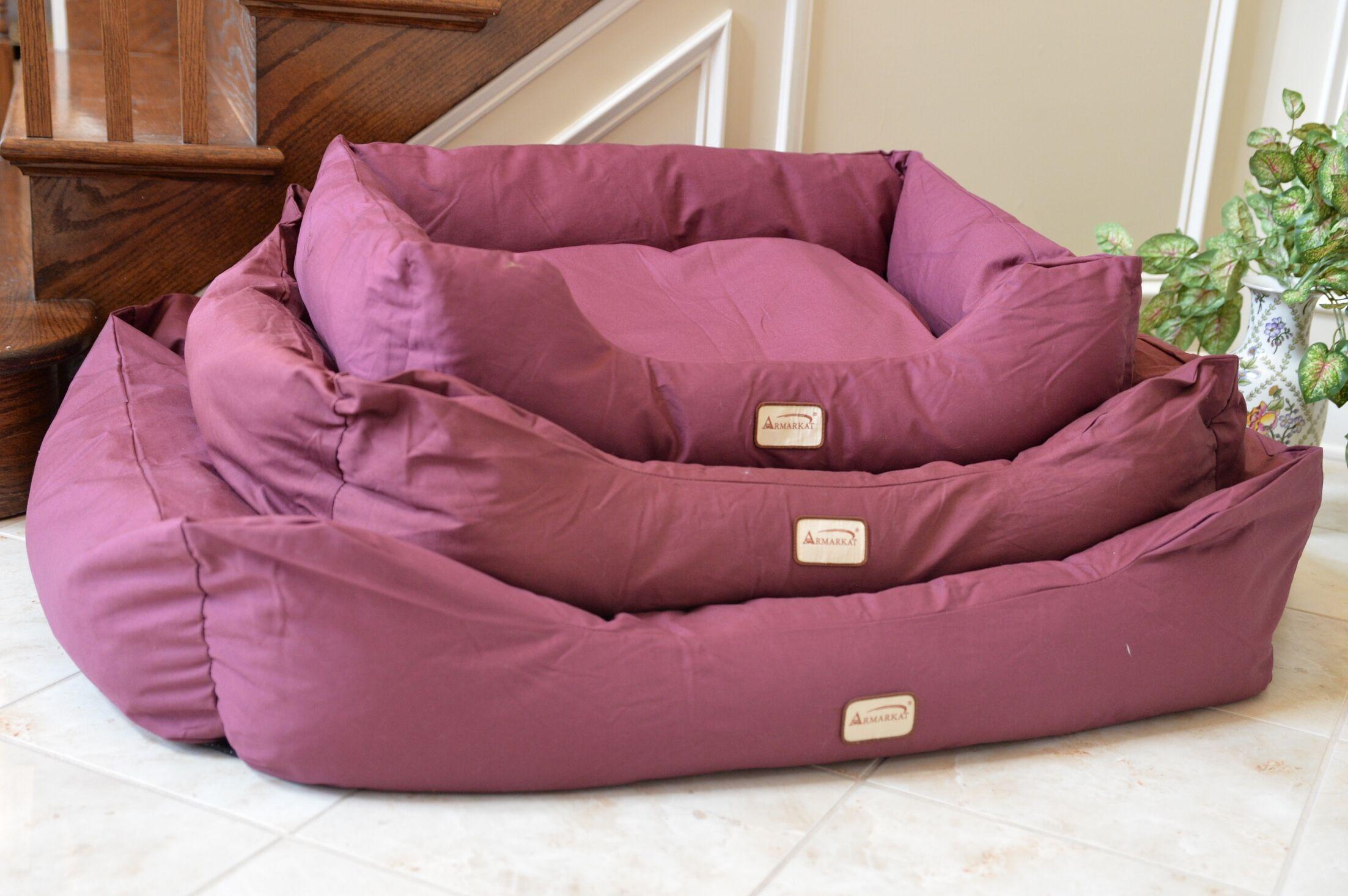 Bolster Dog Bed Size: Large (43