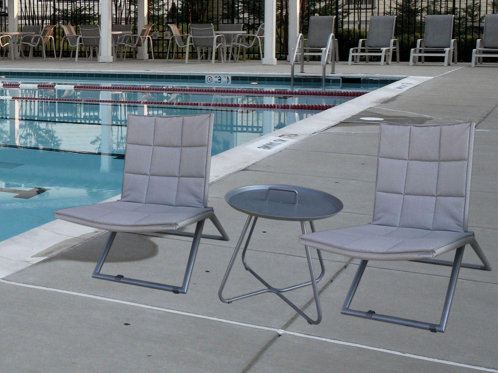 Cespedes 3 Piece Conversation Set with Cushions