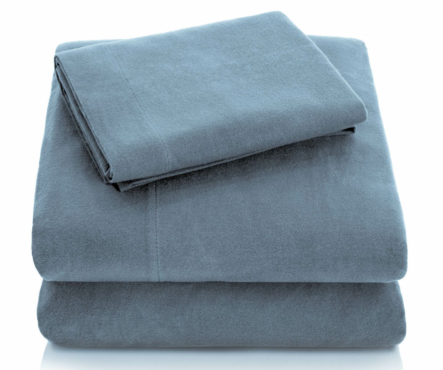 Flannel Sheet Set Color: Pacific, Size: California King