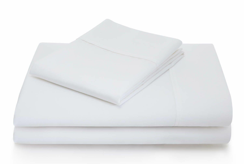 Dan Woven 600 Thread Count Cotton Blend Sheet Set Color: White, Size: Split King