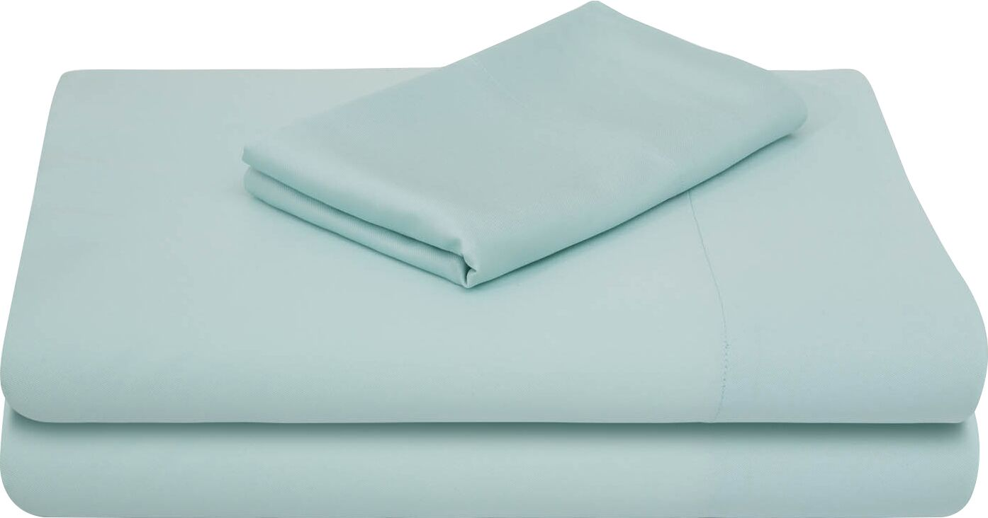 Rayon from Bamboo Bed Sheet Set Color: Rain, Size: Extra-Long Full