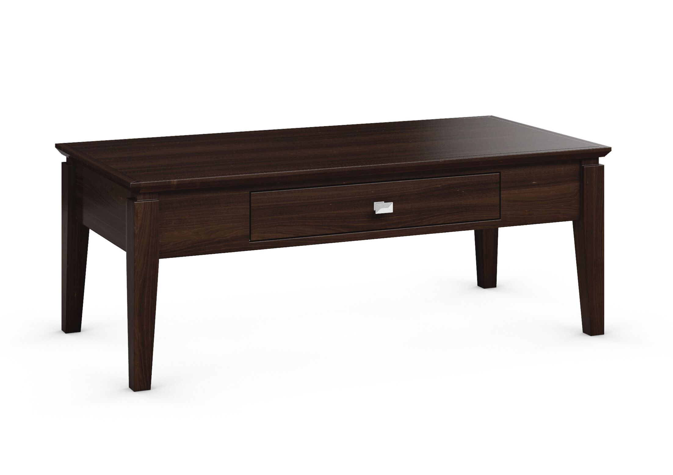 Windward Coffee Table Color: Coffee