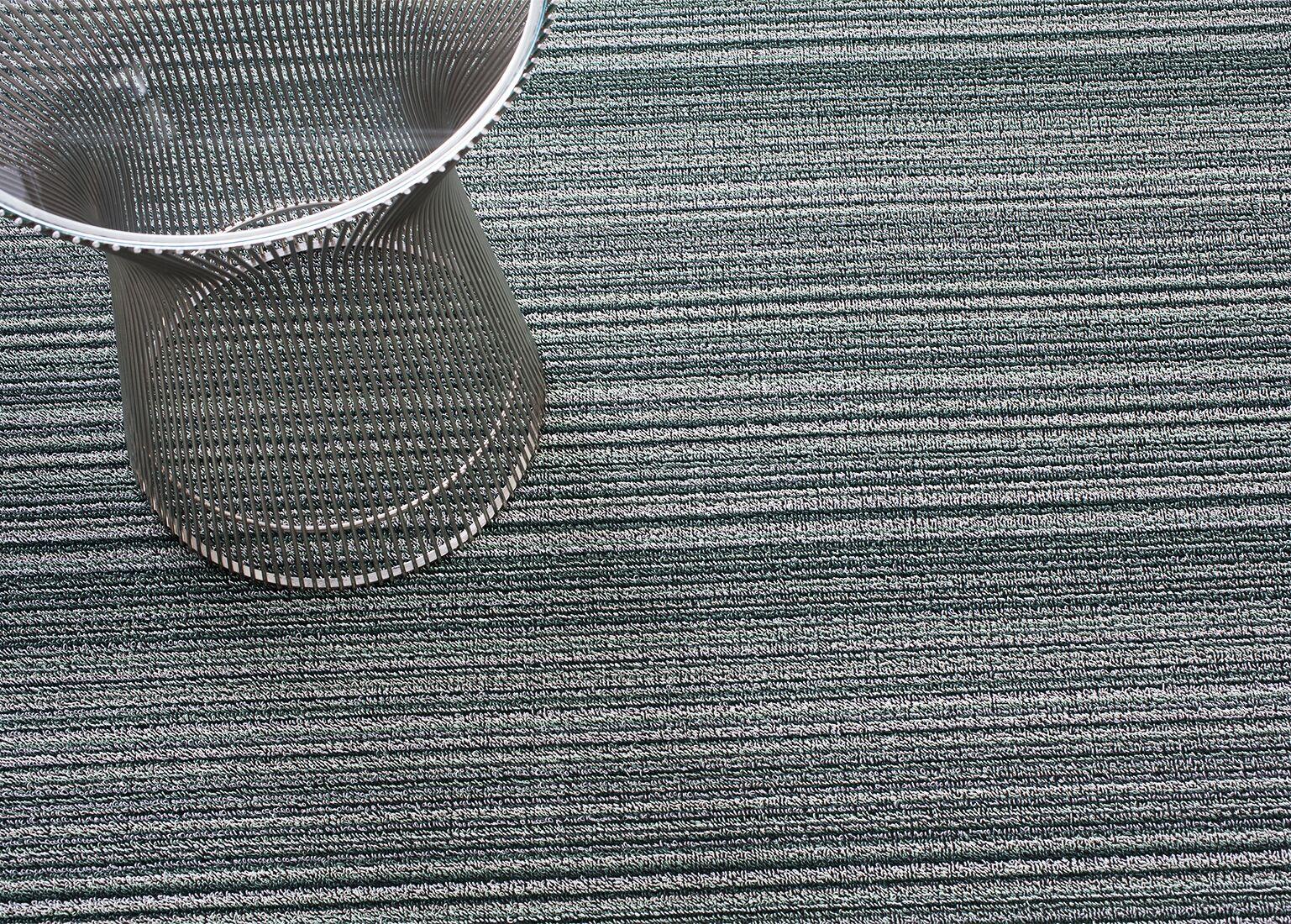 Skinny Stripe Spearmint Doormats Rug Size: 2' x 6'