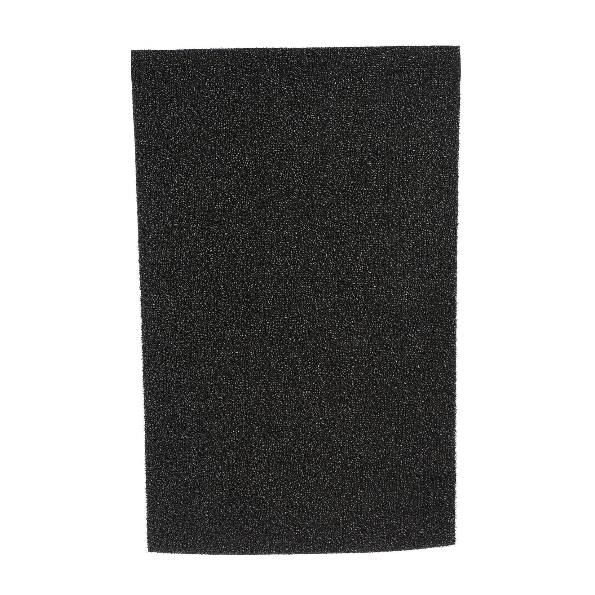 Shag Solid Doormat Color: Solid Black, Mat Size: Rectangle 24