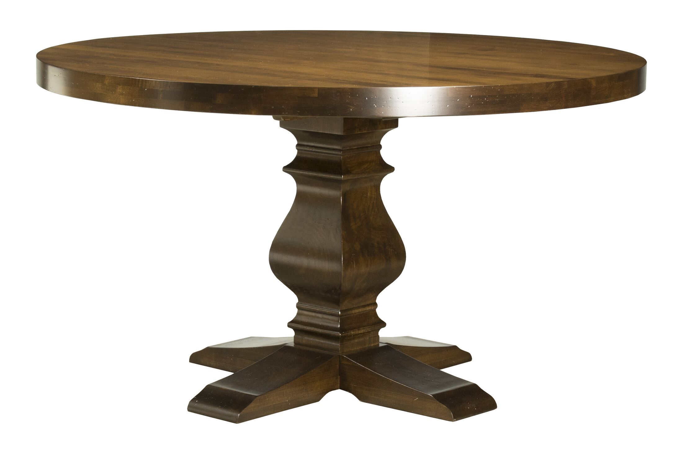 Gaspard Maple Solid Wood Dining Table Size: 29.75