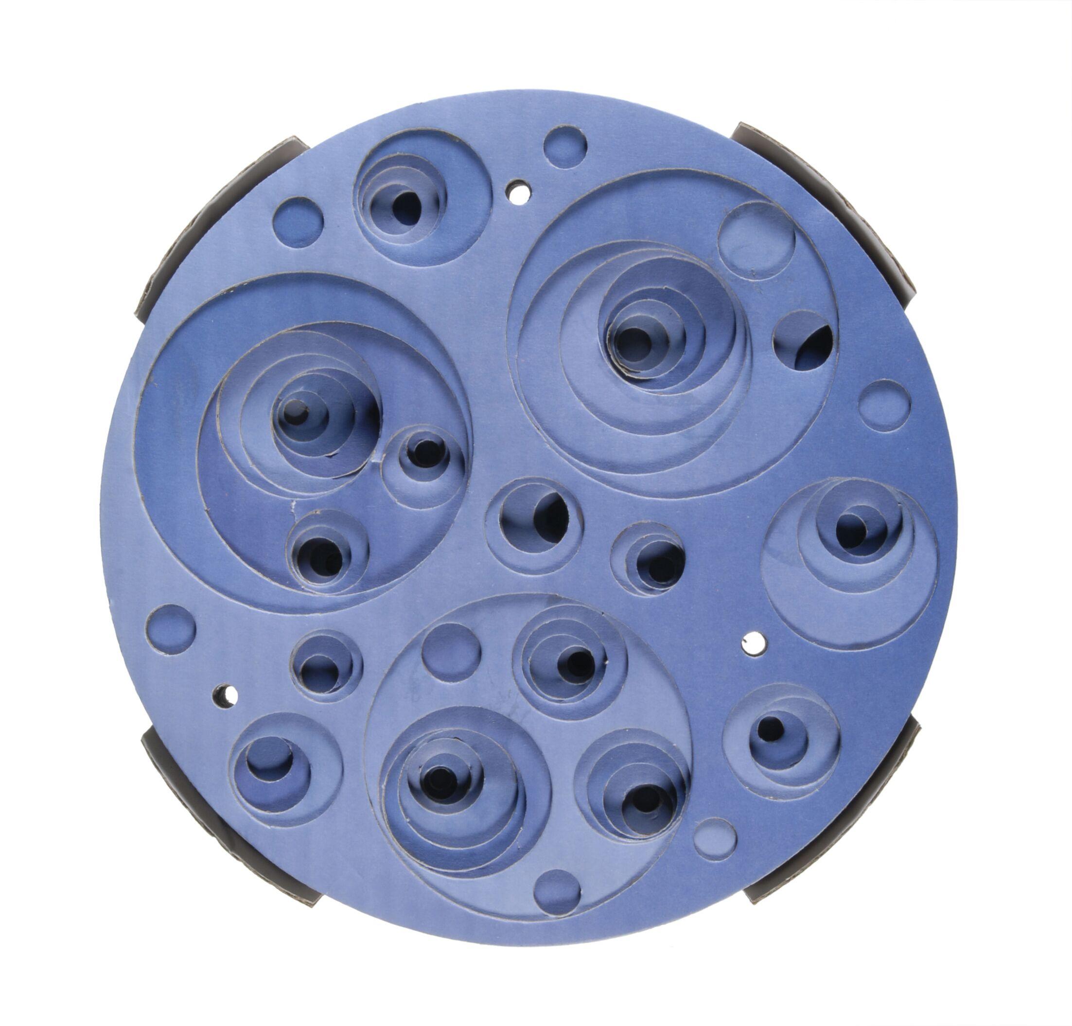 Catit Design Senses Corrugated Scratching Pad Color: Blue Swirl