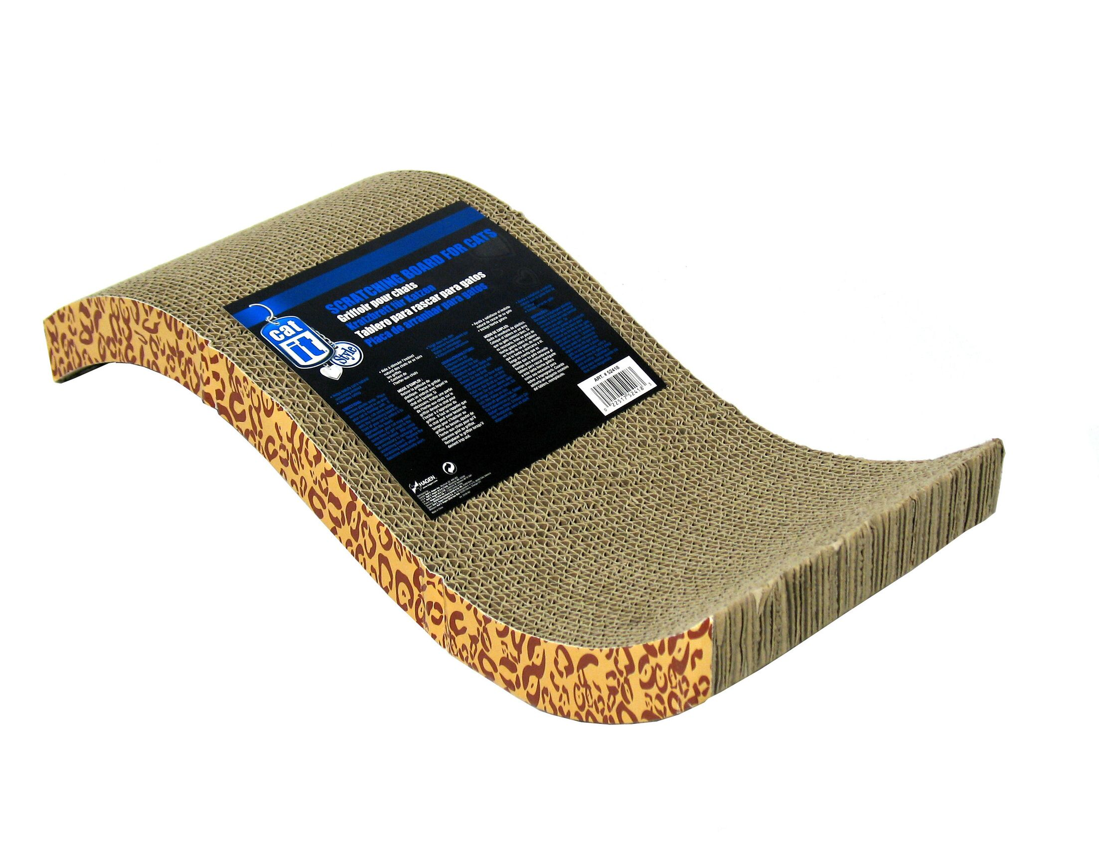 Catit S-Chaise Cardboard Scratching Board
