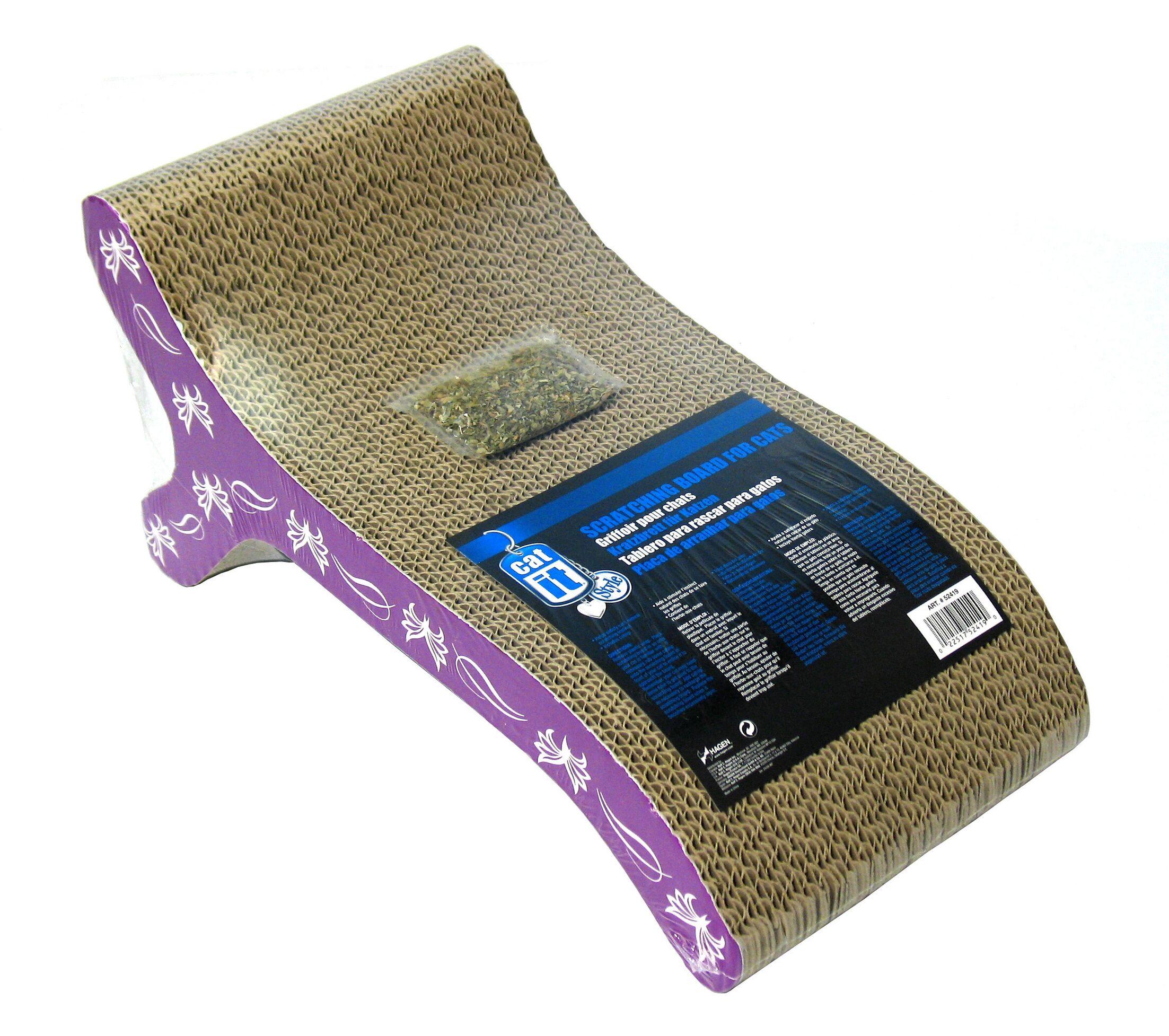 Catit Chaise Cardboard Scratching Board