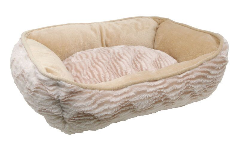 Catit X-Small Style Cuddle Wild Animal Cat Bed Color: Beige