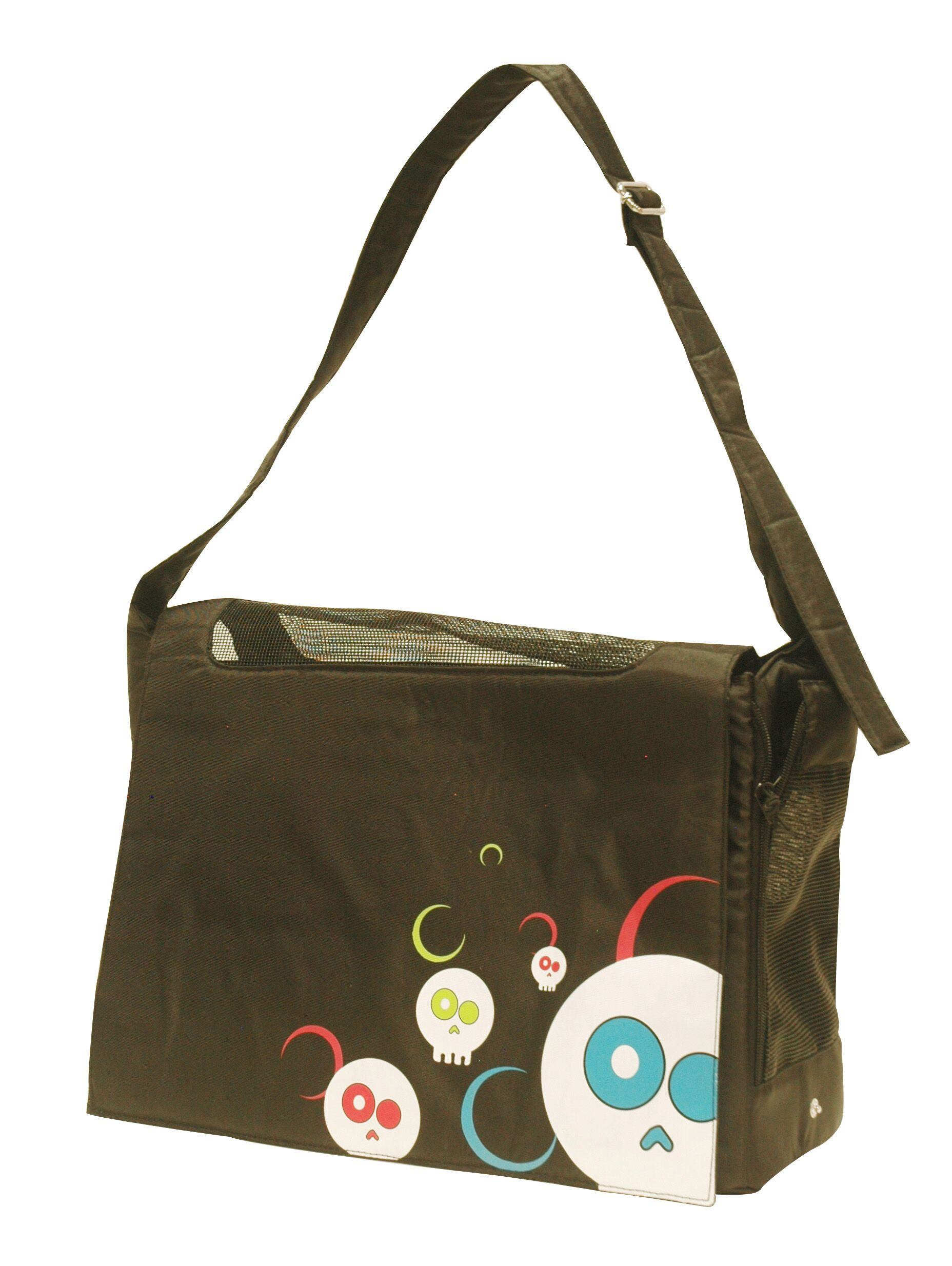 Dogit Messenger Bag Dog Carrier Color: Da Face Black