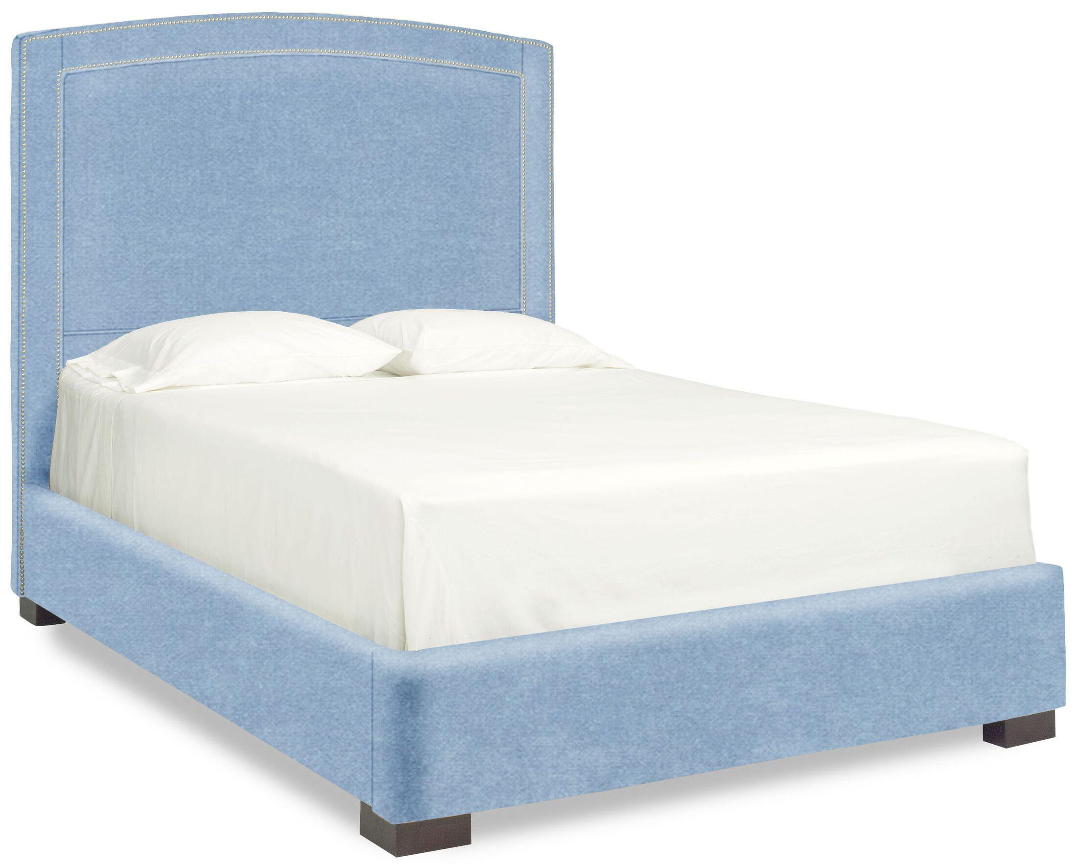 Dreamtime Upholstered Panel Bed Size: Full, Color: Sky