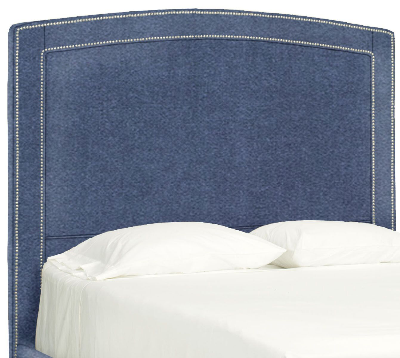 Dreamtime Upholstered Panel Headboard Size: Full, Upholstery: Navy