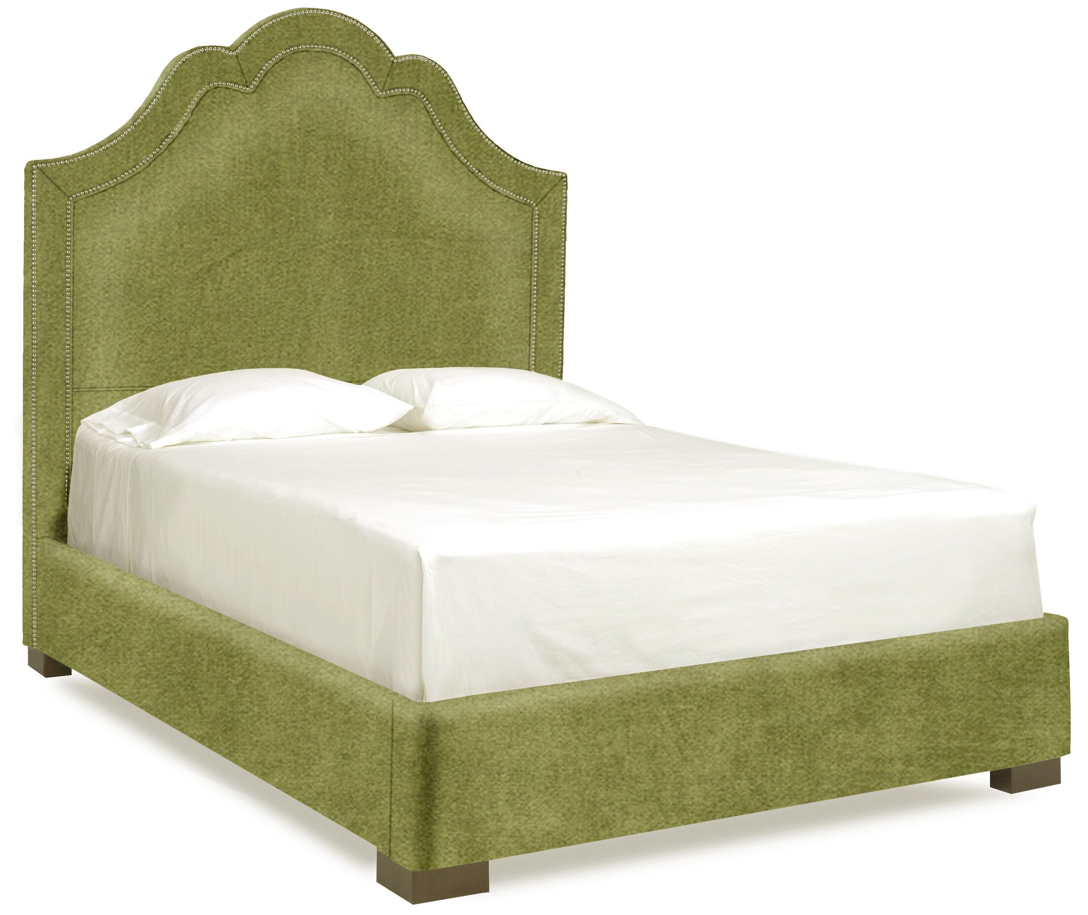 Dreamtime Upholstered Panel Bed Size: Full, Color: Grass