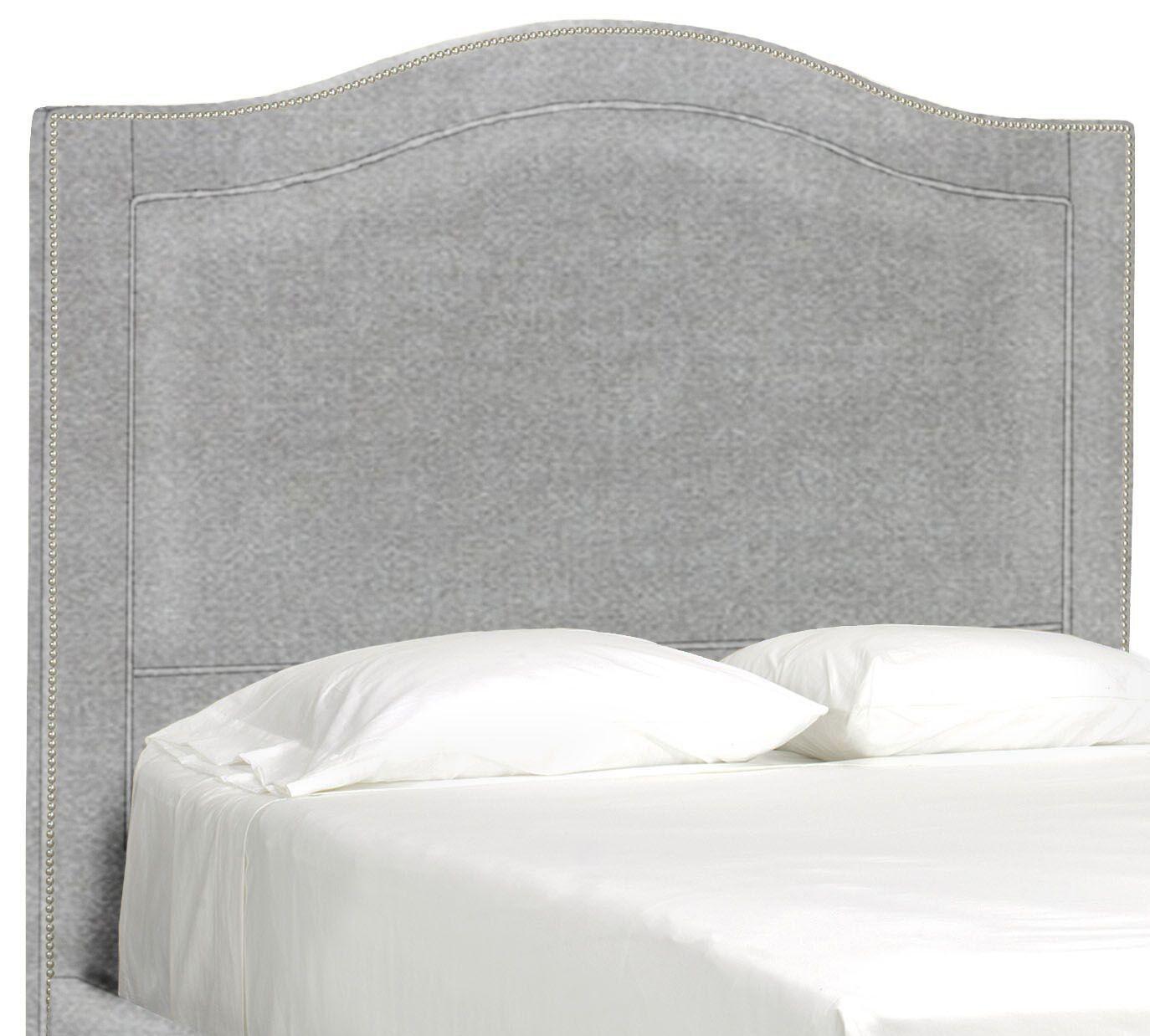 Dreamtime Upholstered Panel Headboard Size: Full, Upholstery: Pewter