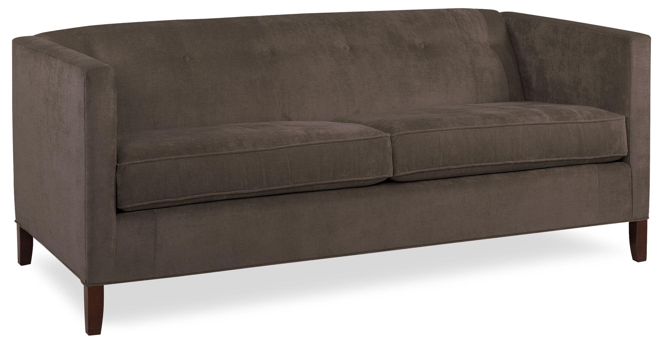 City Spaces Park Avenue Sofa Upholstery: Truffle