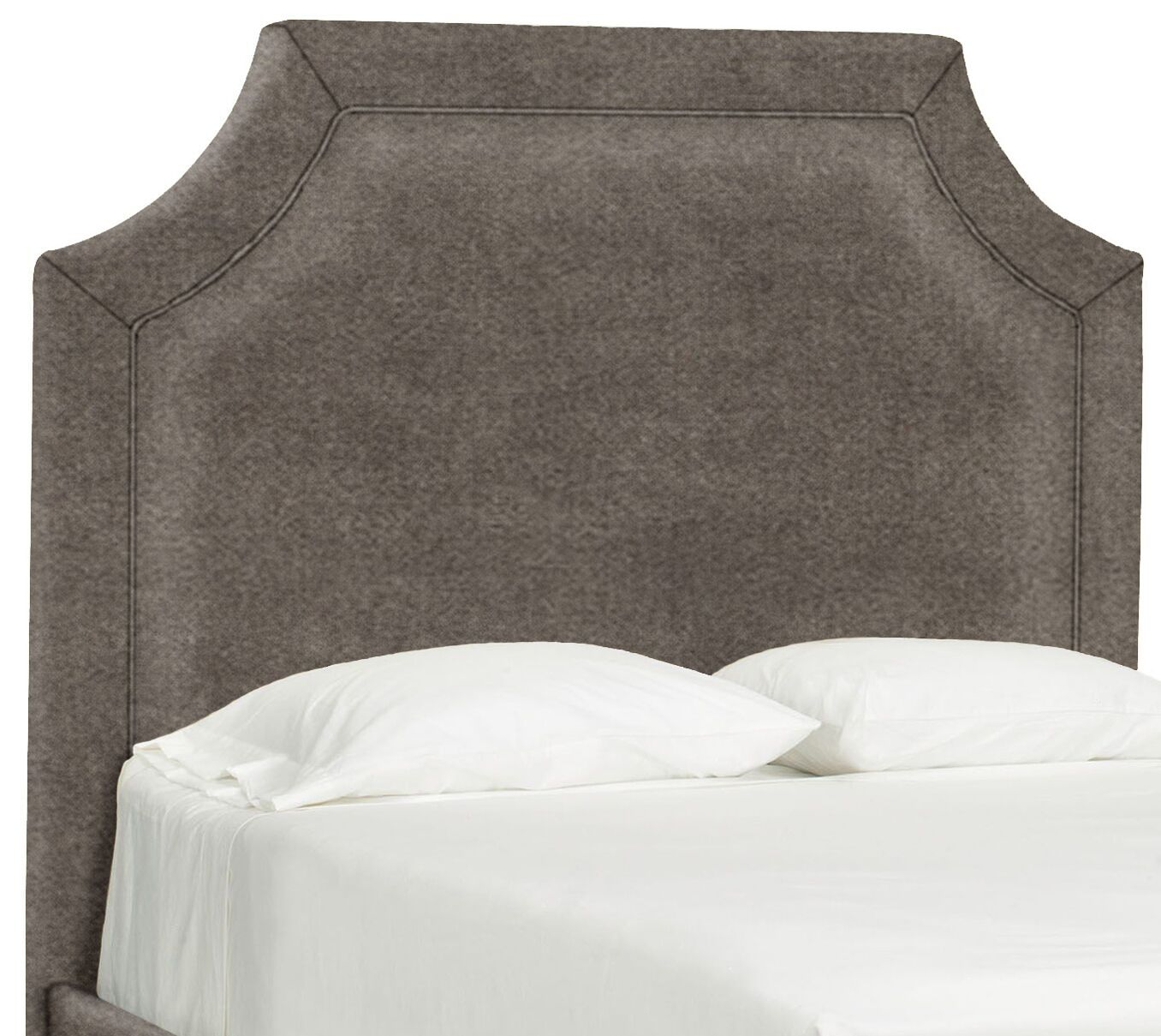 Dreamtime Upholstered Panel Headboard Size: Queen, Upholstery: Truffle