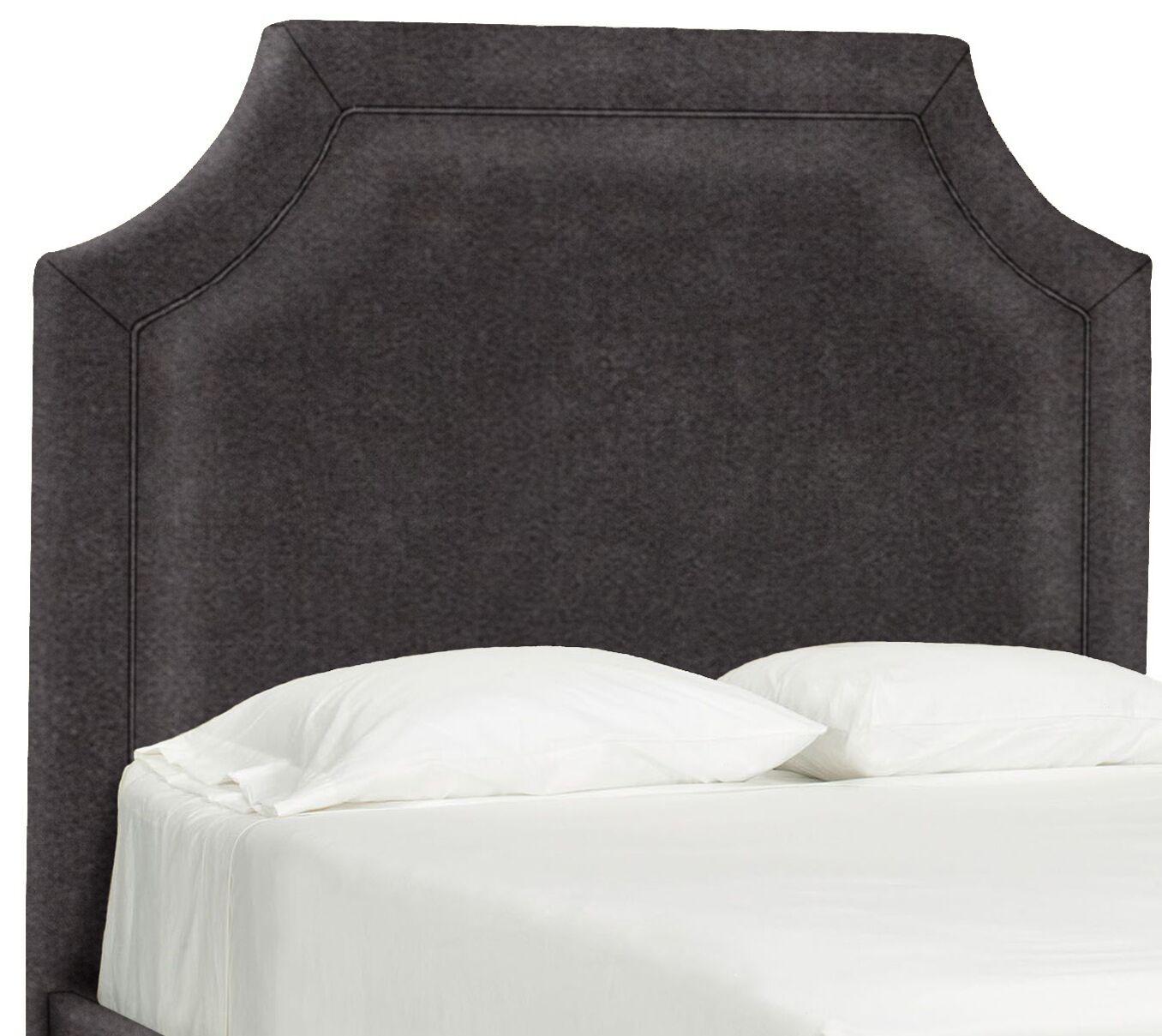 Dreamtime Upholstered Panel Headboard Size: Queen, Upholstery: Dark Ash