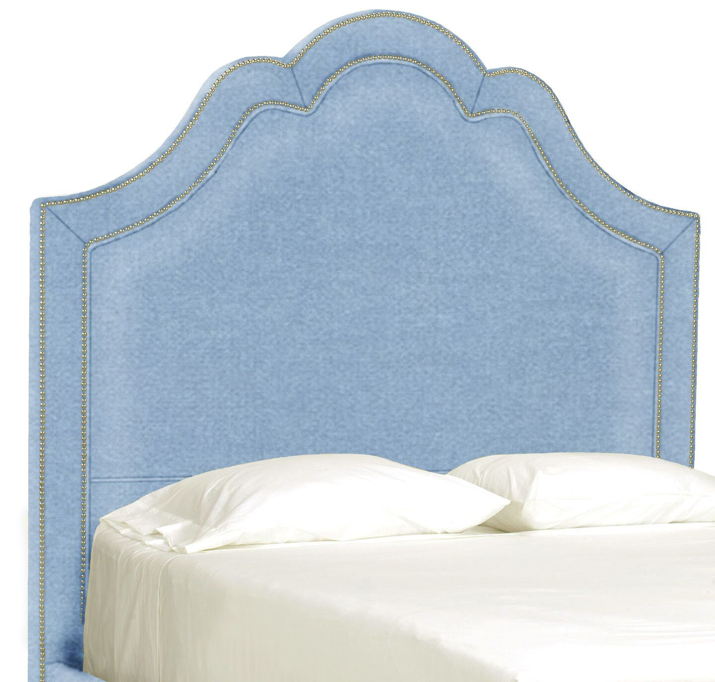 Dreamtime Upholstered Panel Headboard Upholstery: Sky, Size: Queen