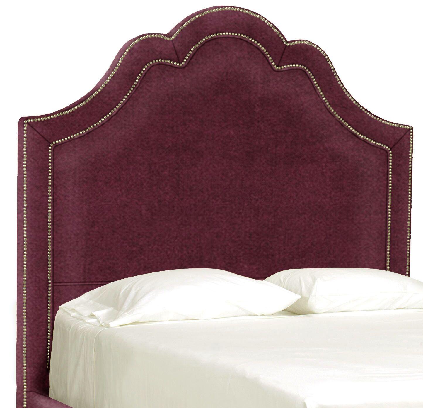 Dreamtime Upholstered Panel Headboard Size: Full, Upholstery: Merlot