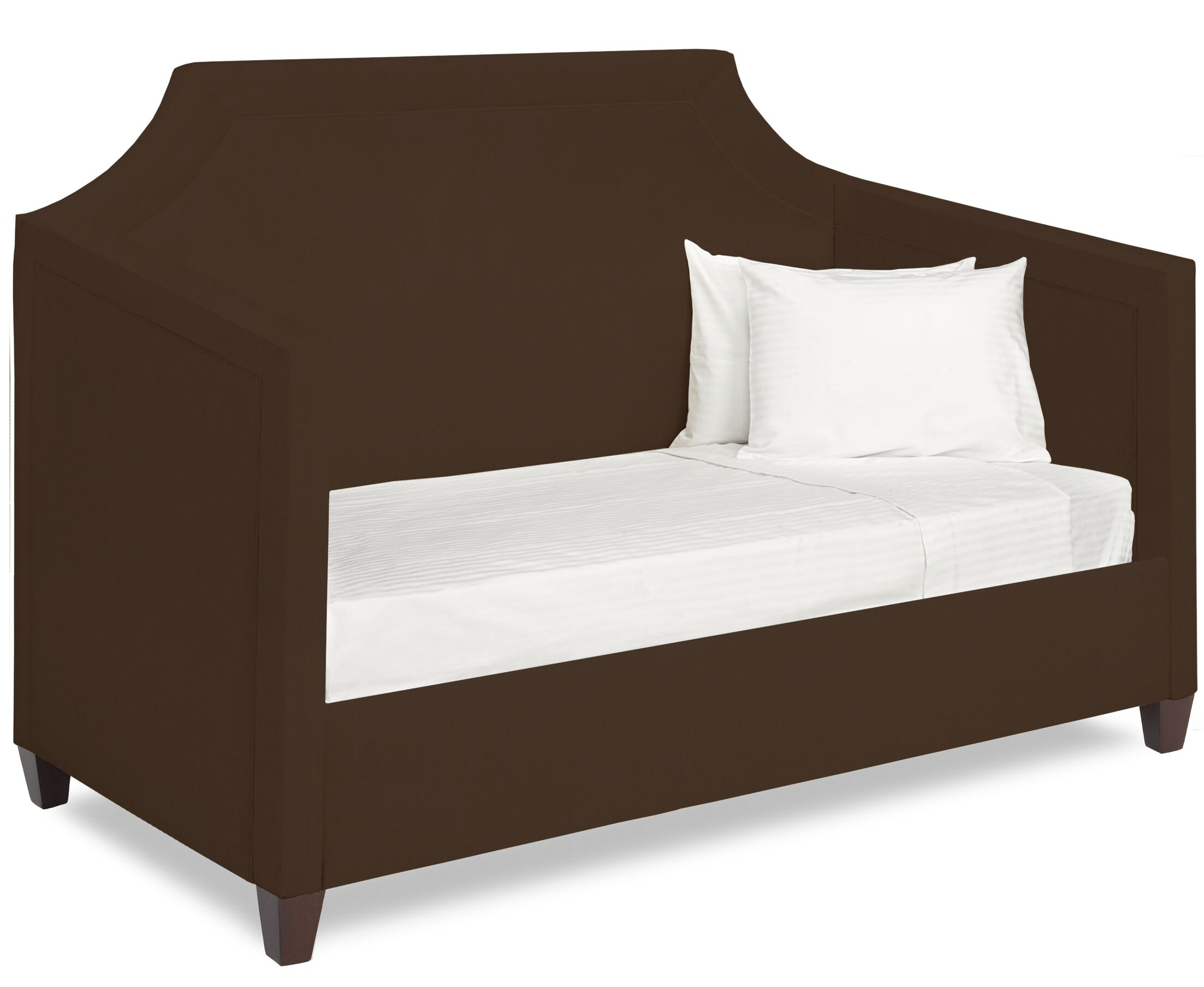 Dreamtime Daybed with Mattress Size: Twin, Color: Chocolate