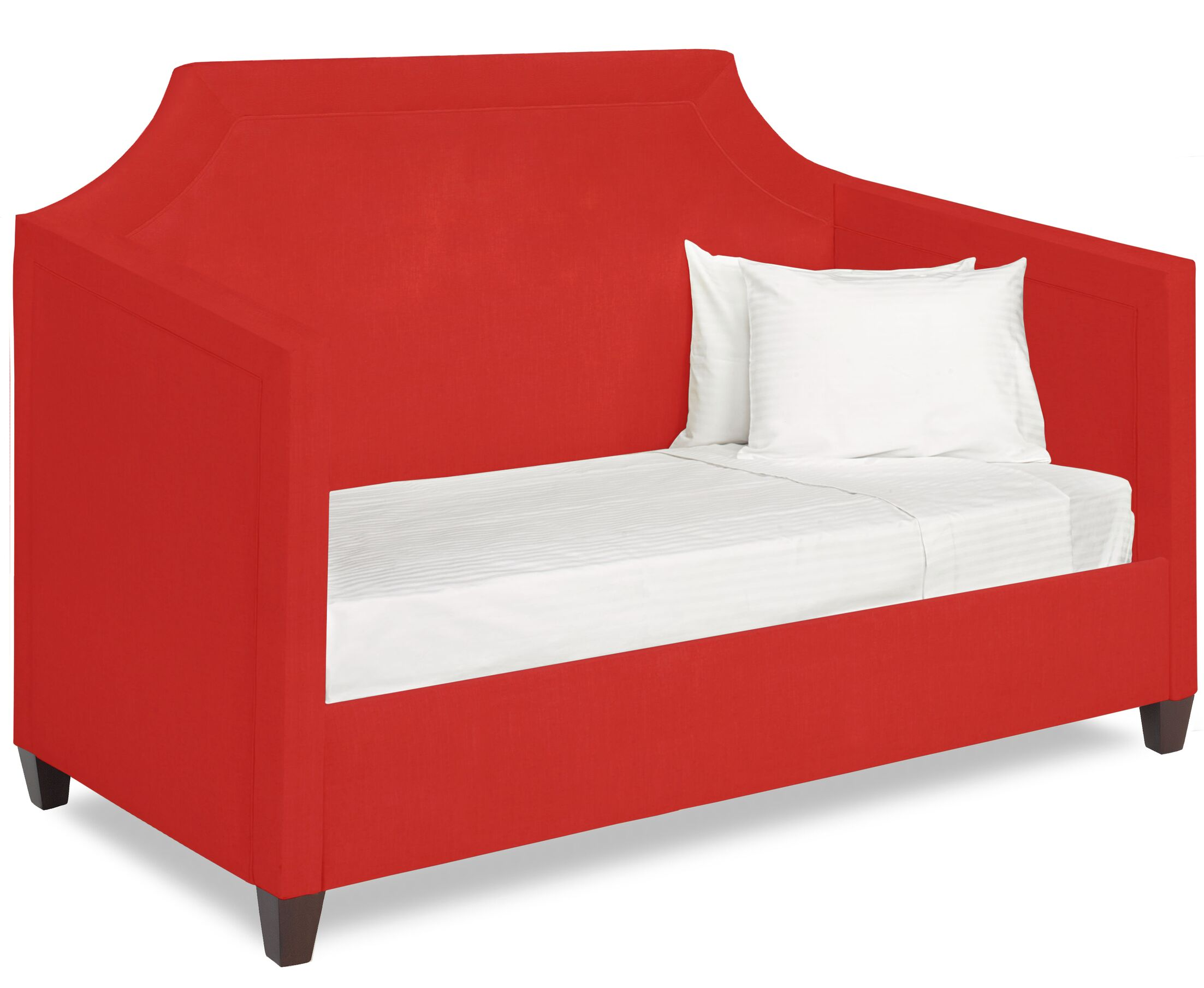 Dreamtime Daybed with Mattress Size: Twin, Color: Scarlet
