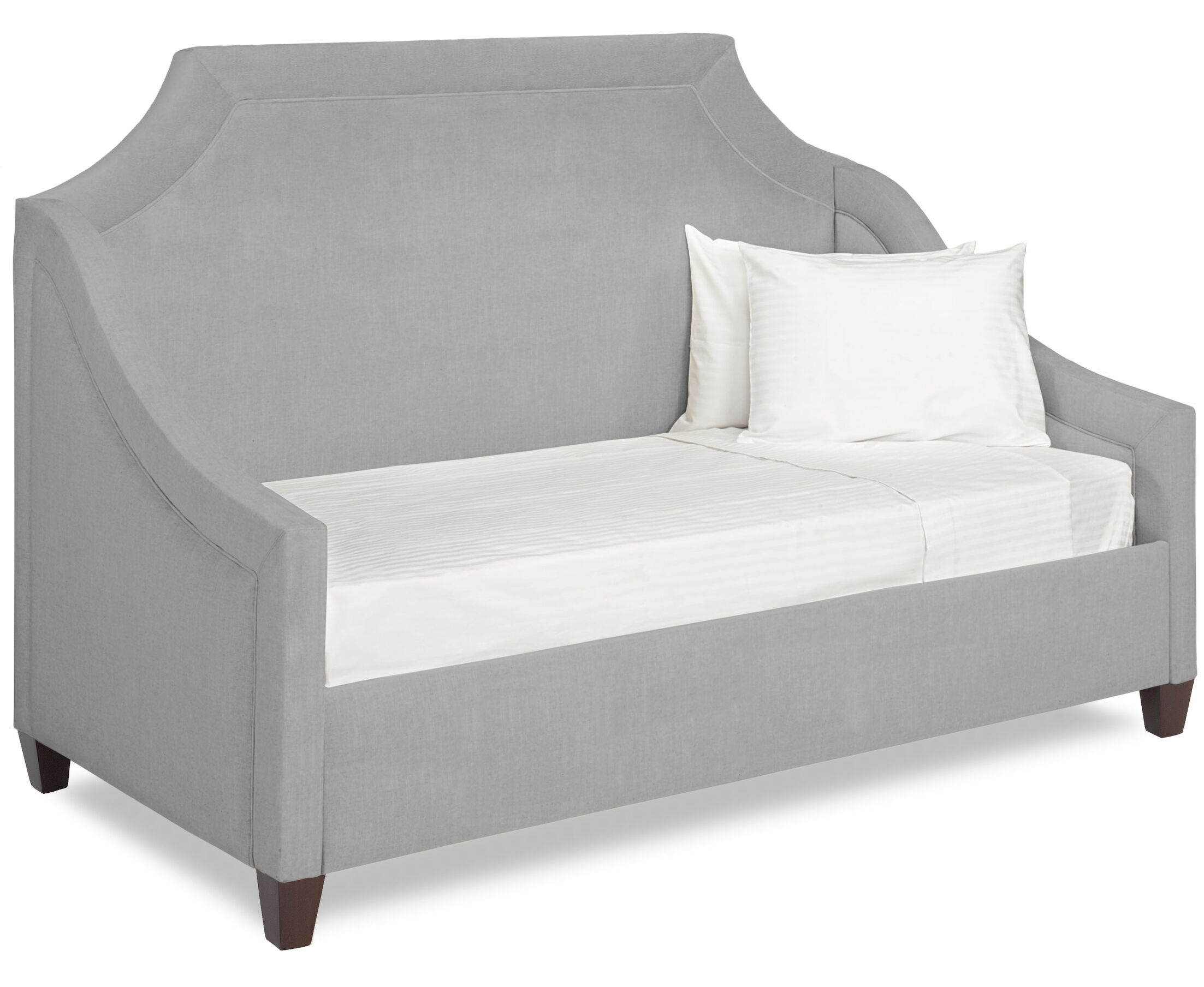 Dreamtime Daybed with Mattress Color: Pewter, Size: Twin XL