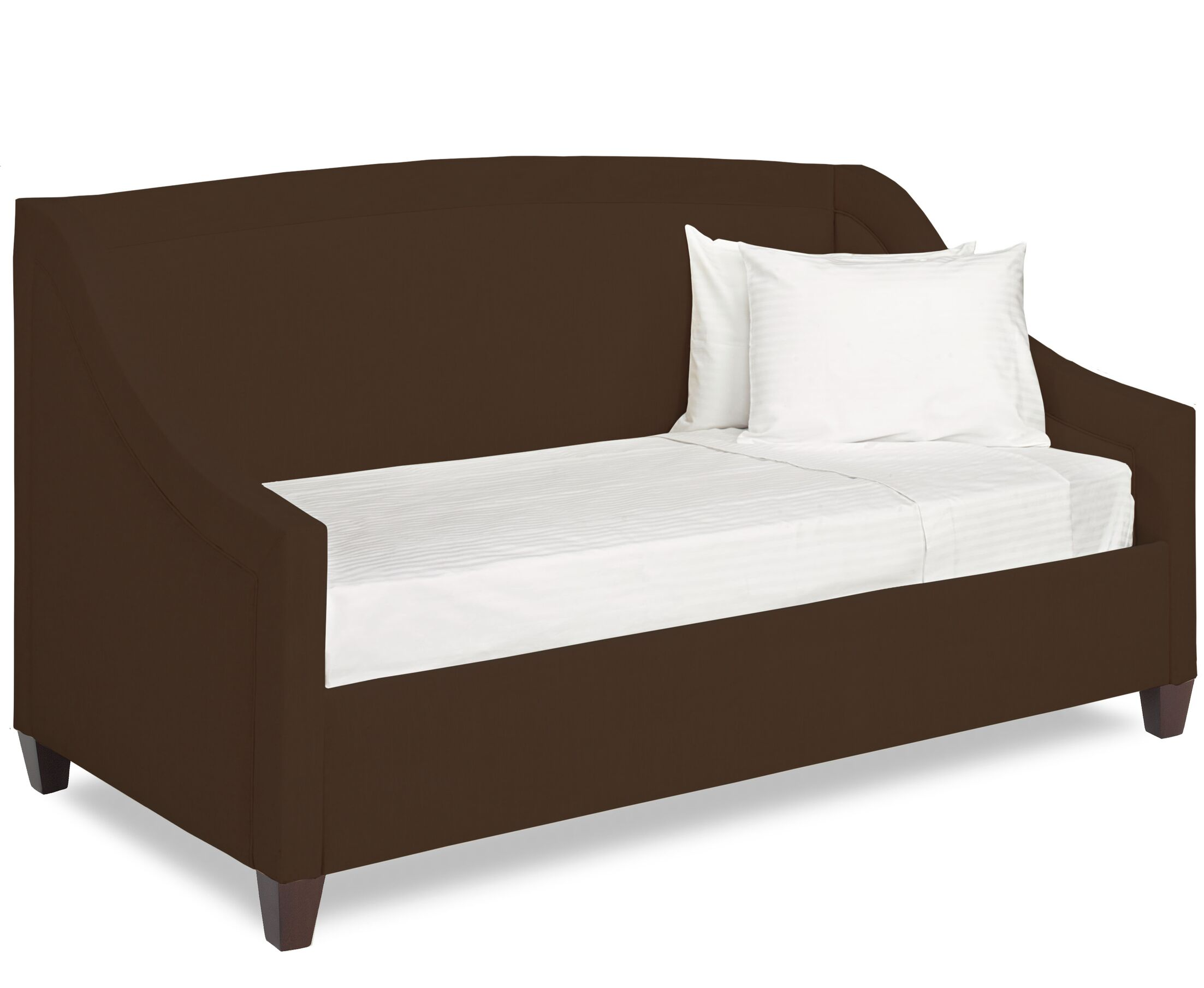 Dreamtime Daybed with Mattress Color: Chocolate, Size: Twin XL