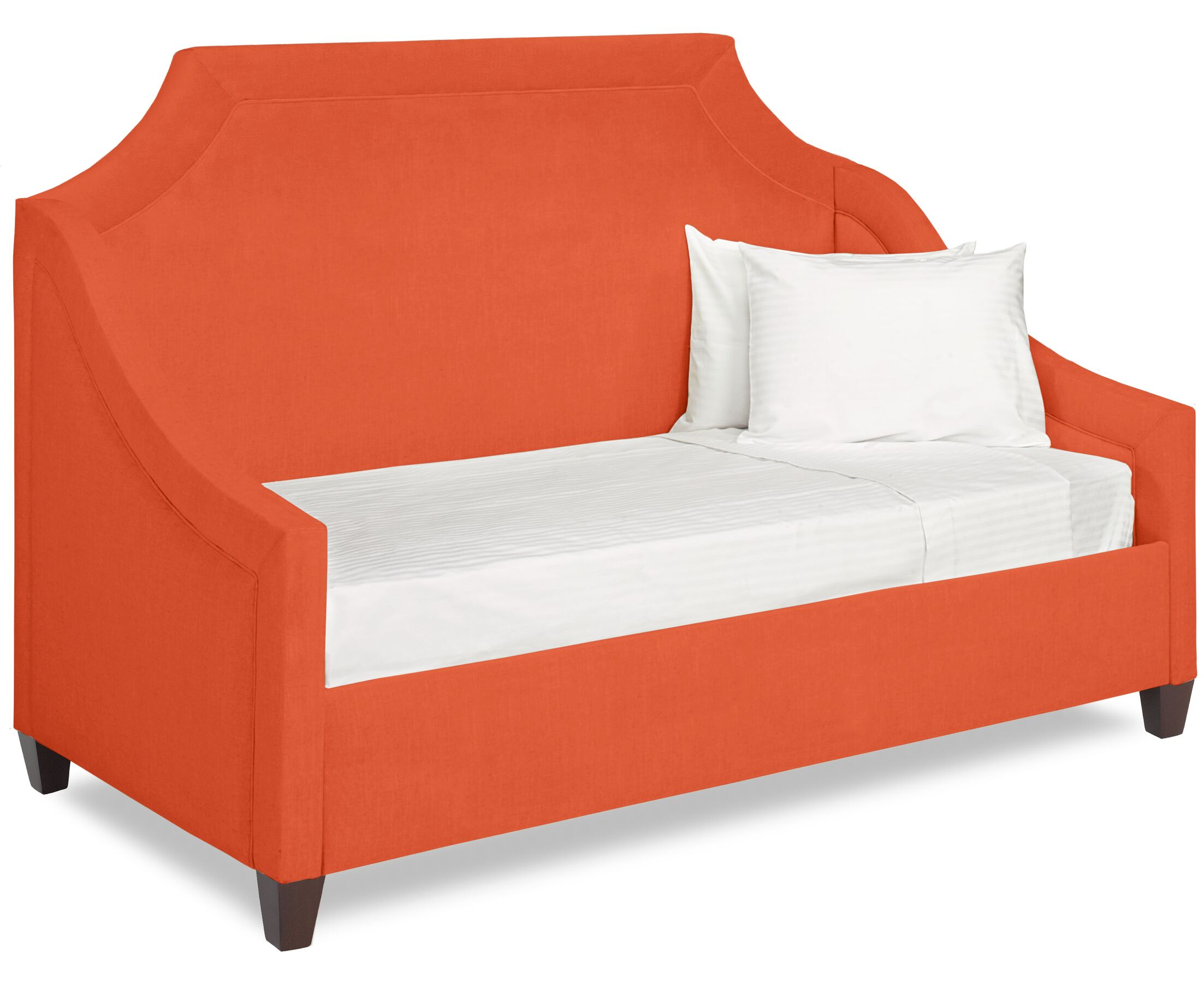 Dreamtime Daybed with Mattress Color: Tangelo, Size: Twin XL