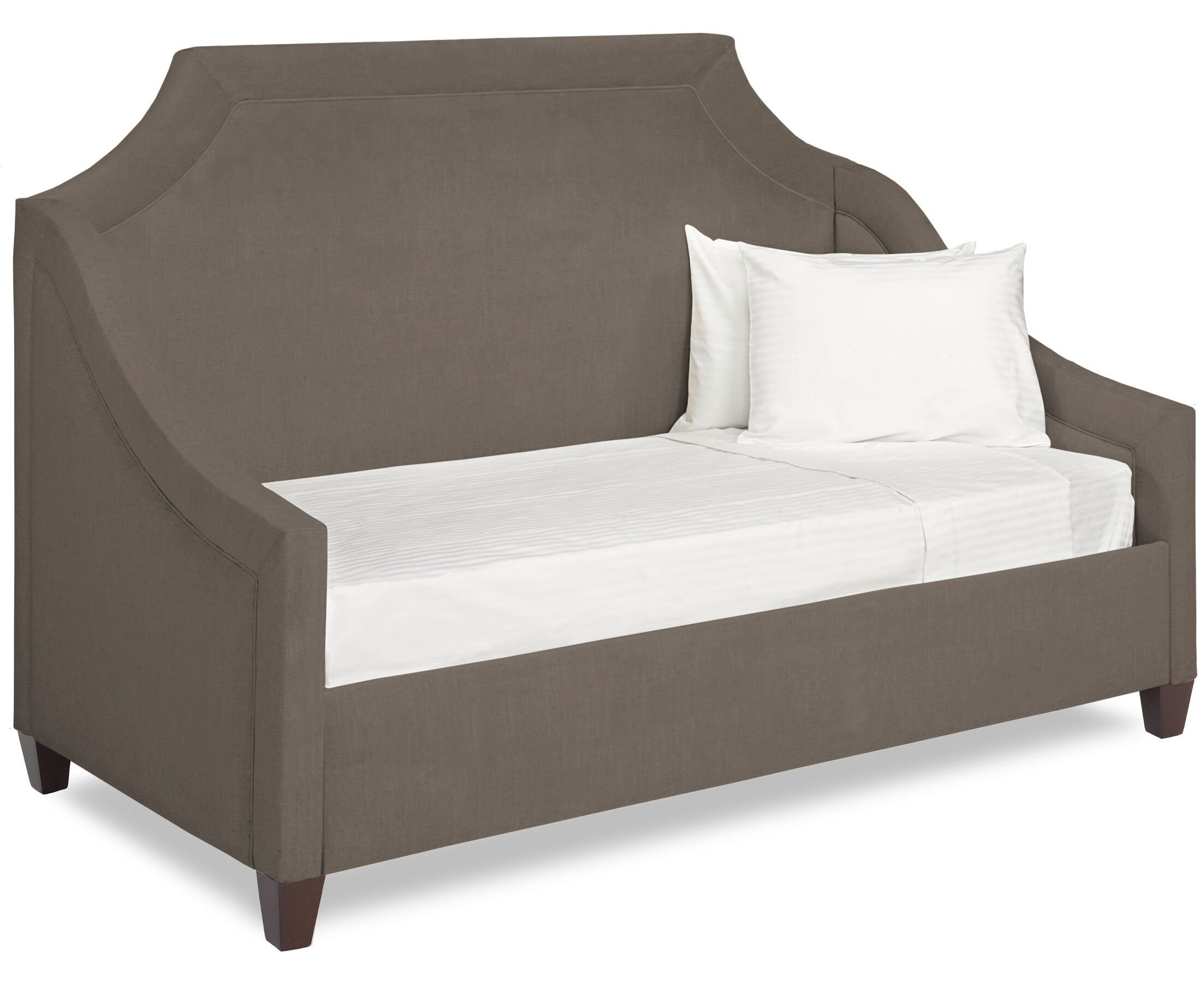 Dreamtime Daybed with Mattress Color: Truffle, Size: Twin XL