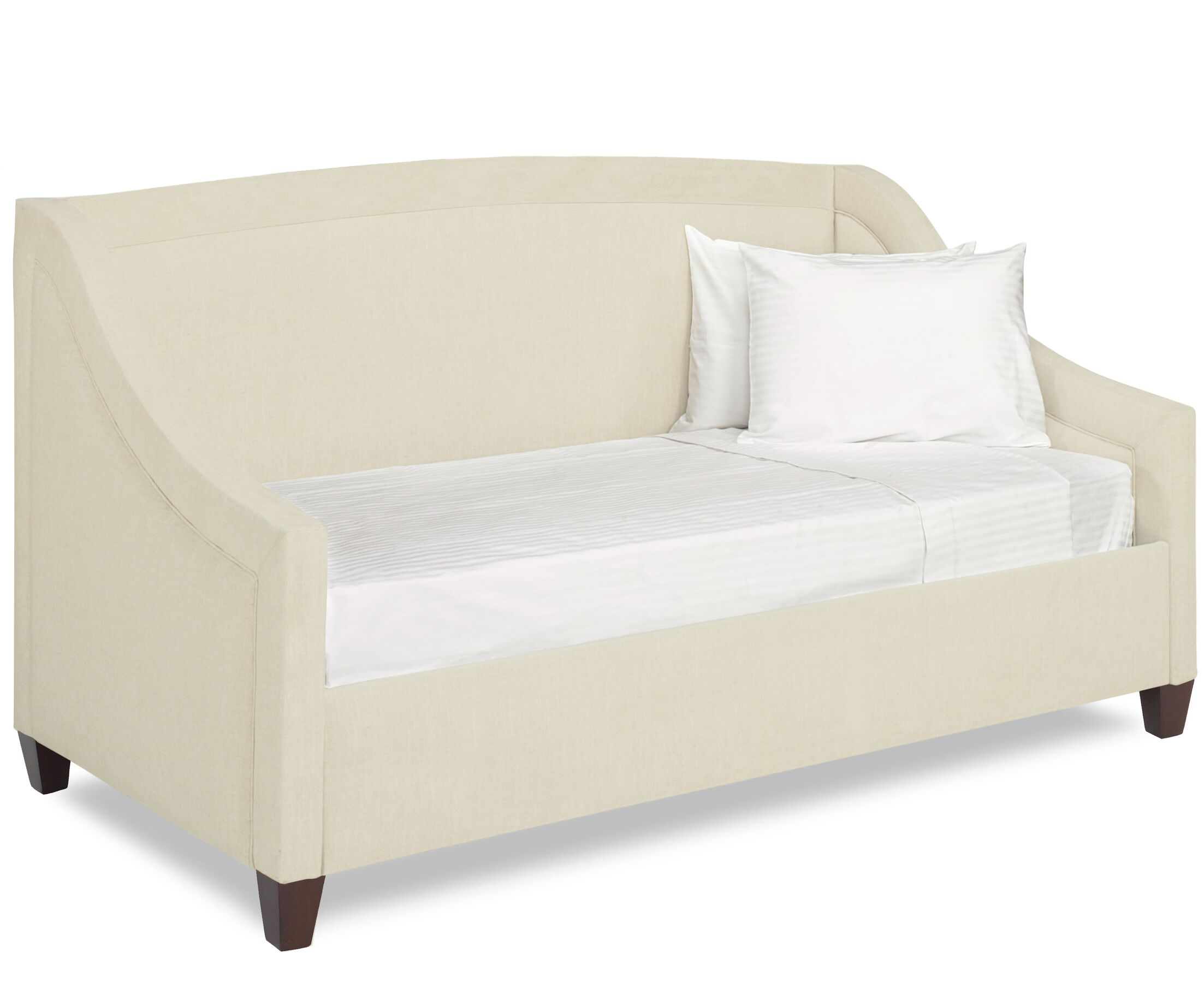 Dreamtime Daybed with Mattress Color: Cream, Size: Twin XL