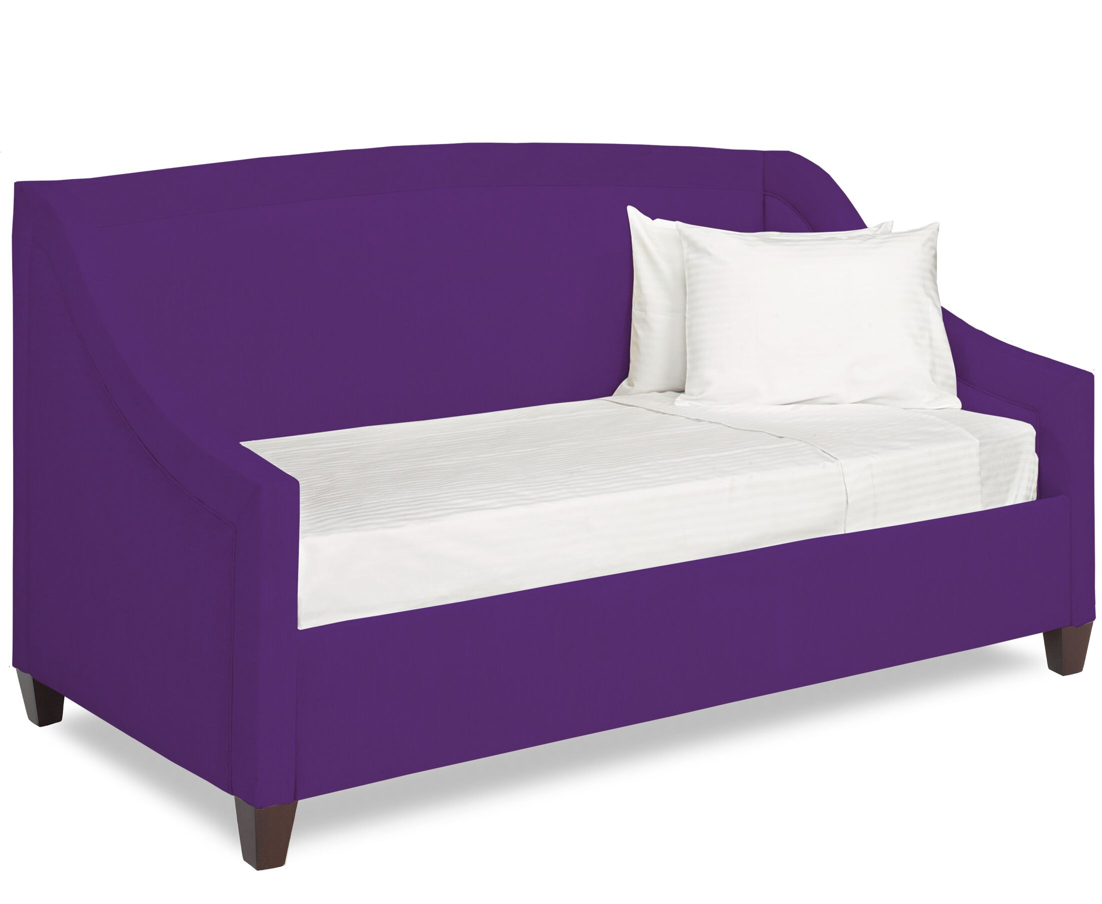 Dreamtime Daybed with Mattress Color: Eggplant, Size: Twin XL