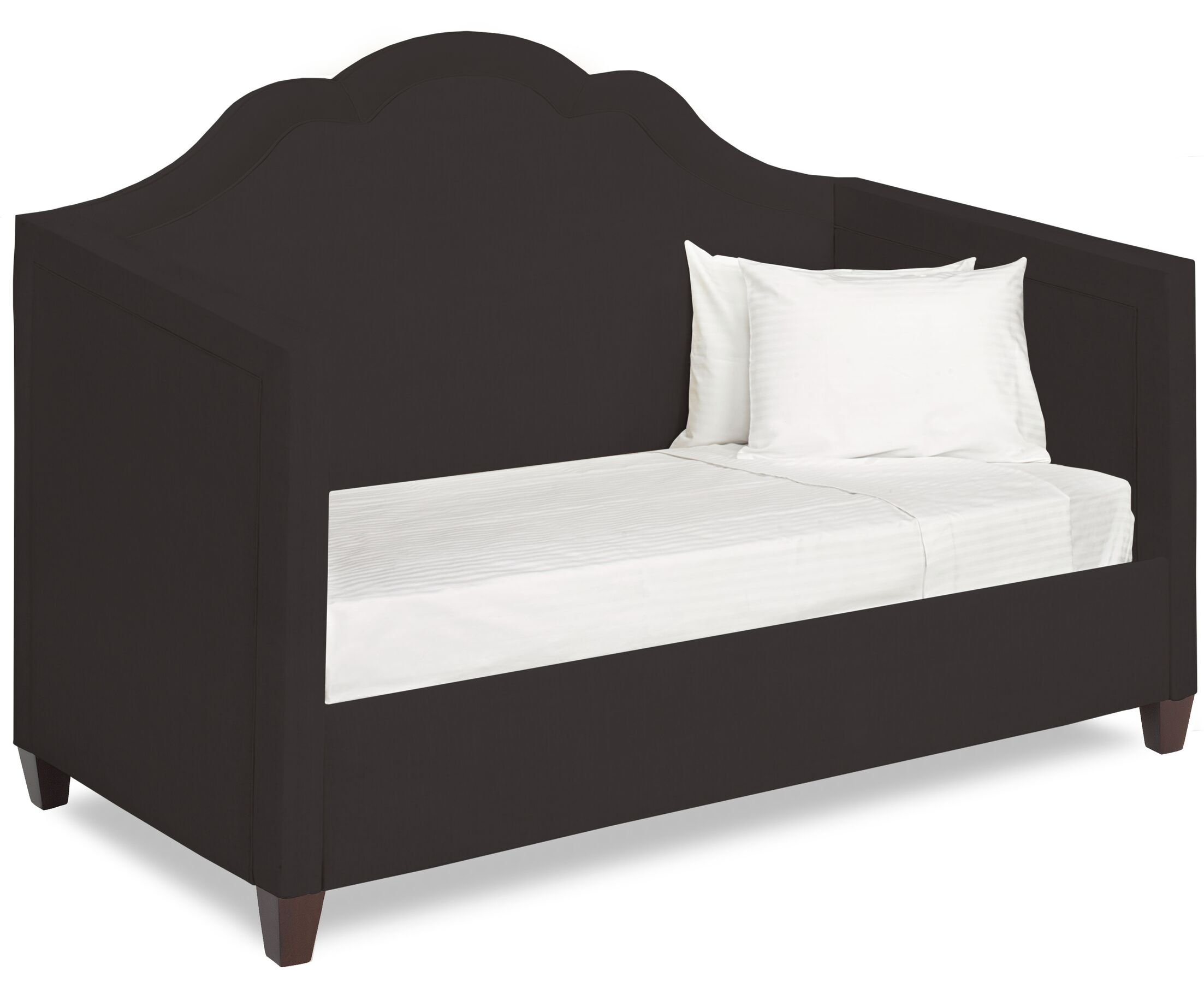 Dreamtime Daybed with Mattress Size: Twin, Color: Dark Ash