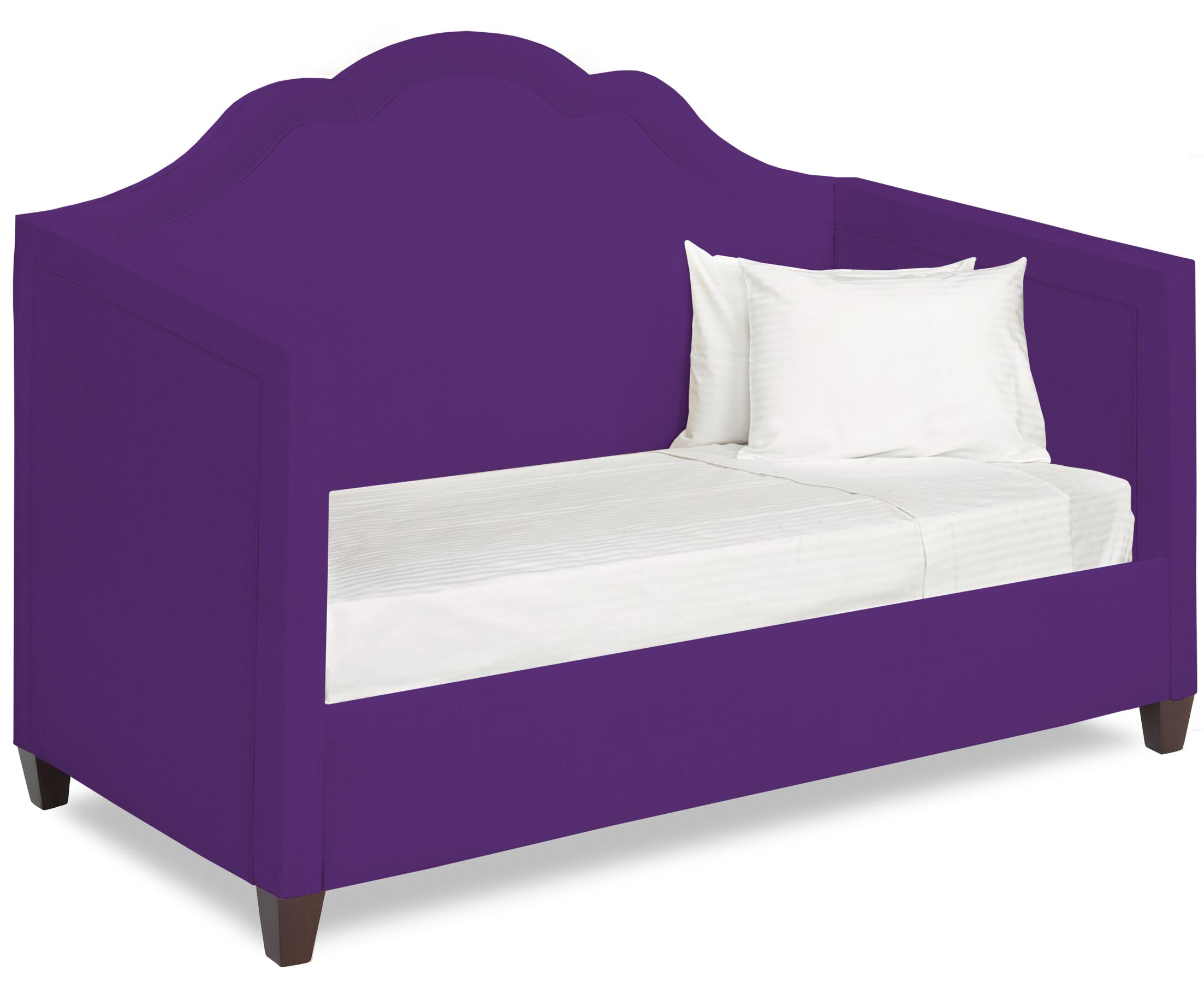 Dreamtime Daybed with Mattress Size: Twin XL, Color: Eggplant