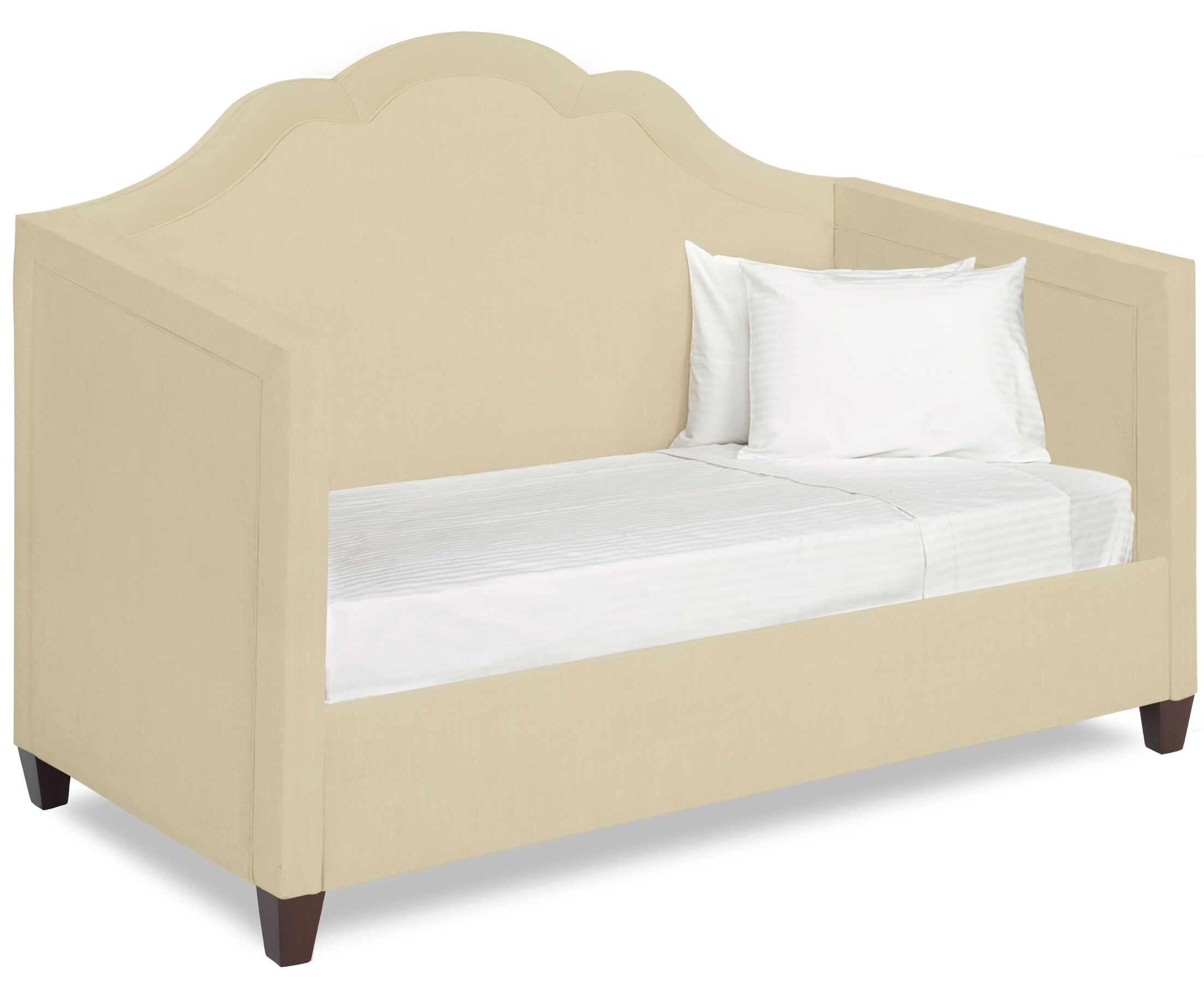 Dreamtime Daybed with Mattress Size: Twin XL, Color: Beige