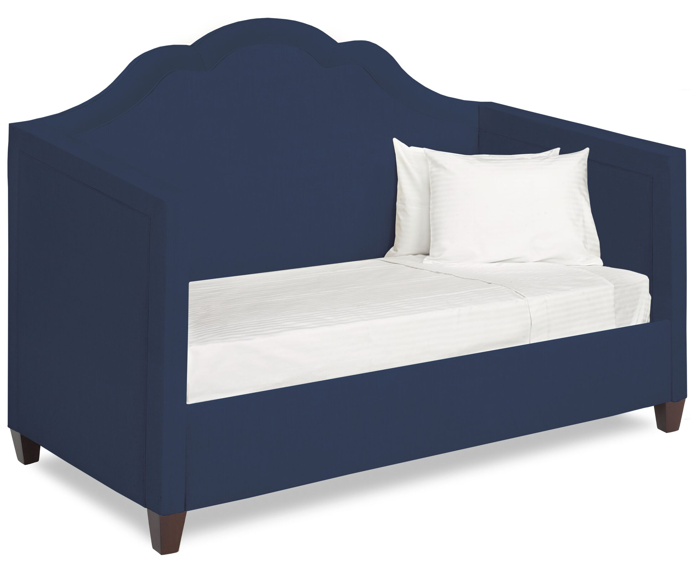 Dreamtime Daybed with Mattress Color: Navy, Size: Twin
