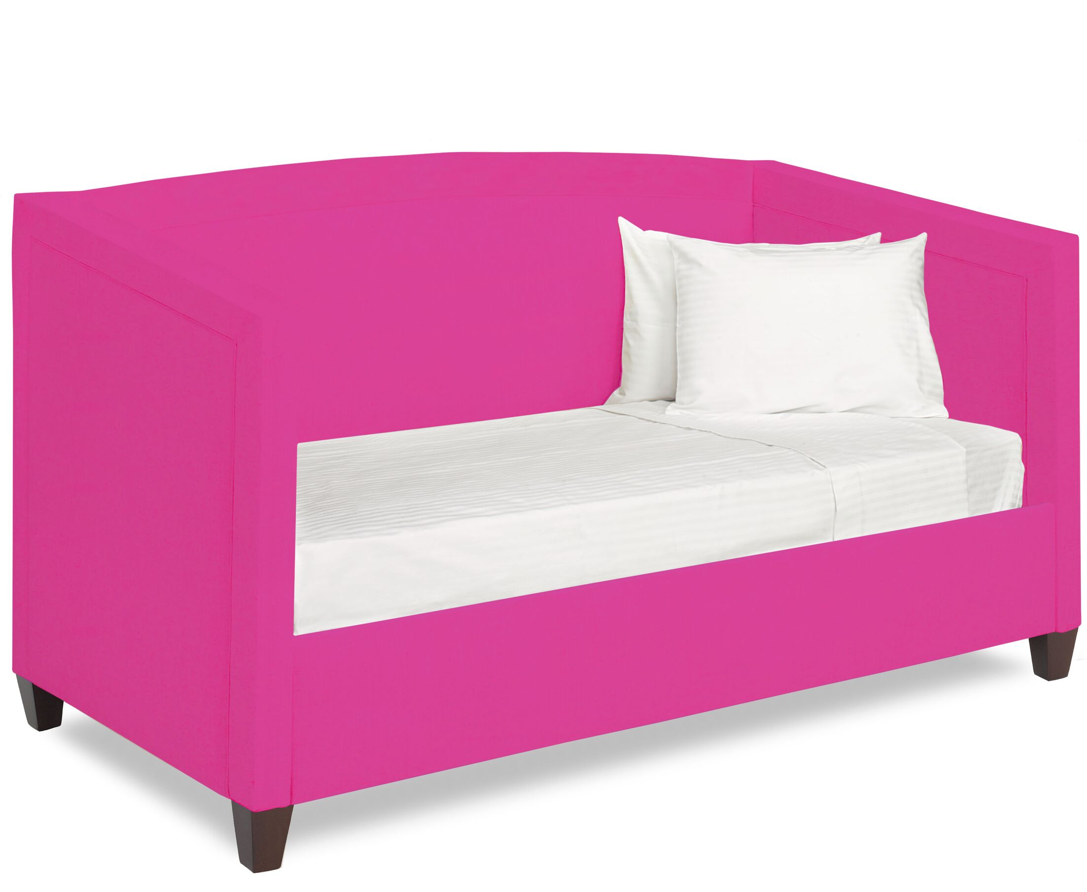 Dreamtime Daybed with Mattress Size: Twin, Color: Fuchsia