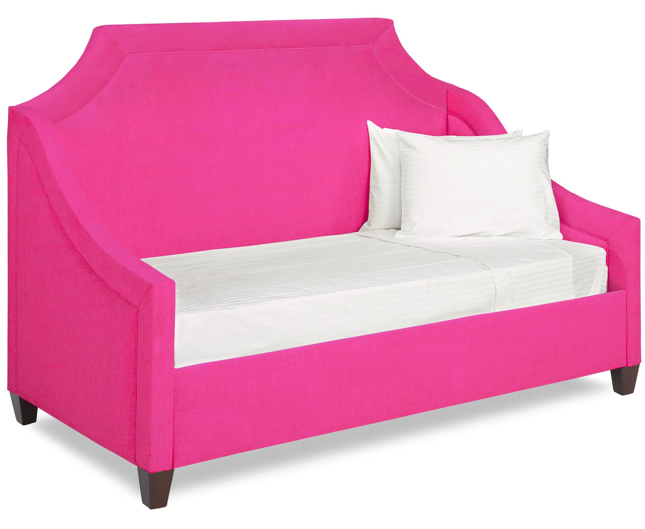 Dreamtime Daybed with Mattress Color: Fuchsia, Size: Twin XL
