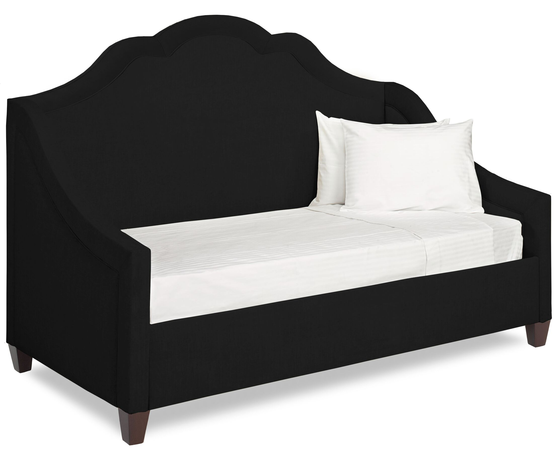 Dreamtime Daybed with Mattress Size: Twin, Color: Onyx