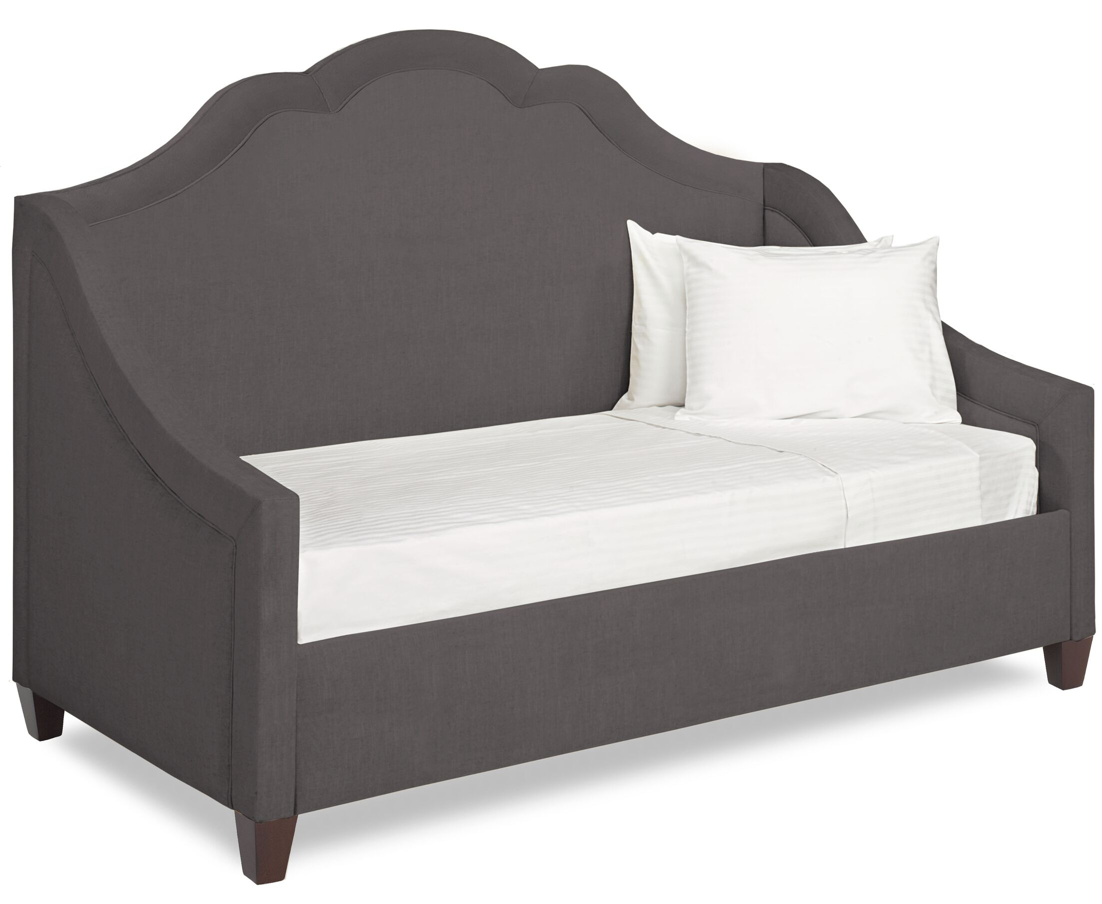 Dreamtime Daybed with Mattress Color: Dark Ash, Size: Twin XL