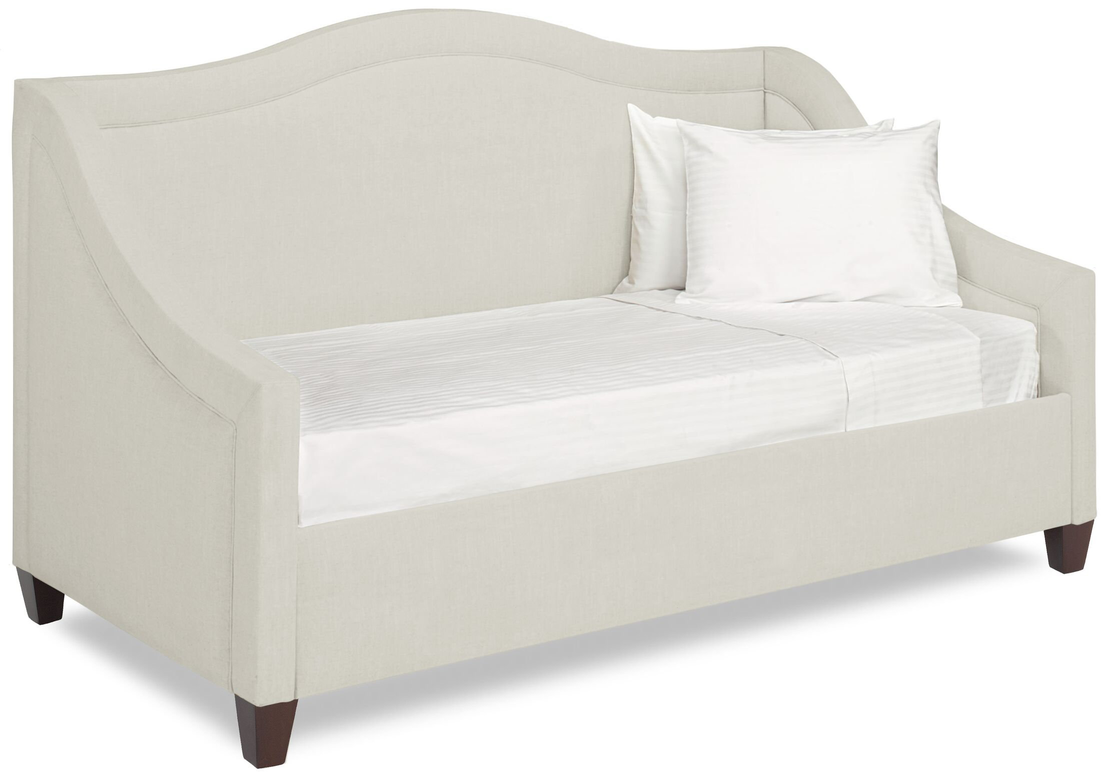 Dreamtime Daybed with Mattress Size: Twin, Color: Cream