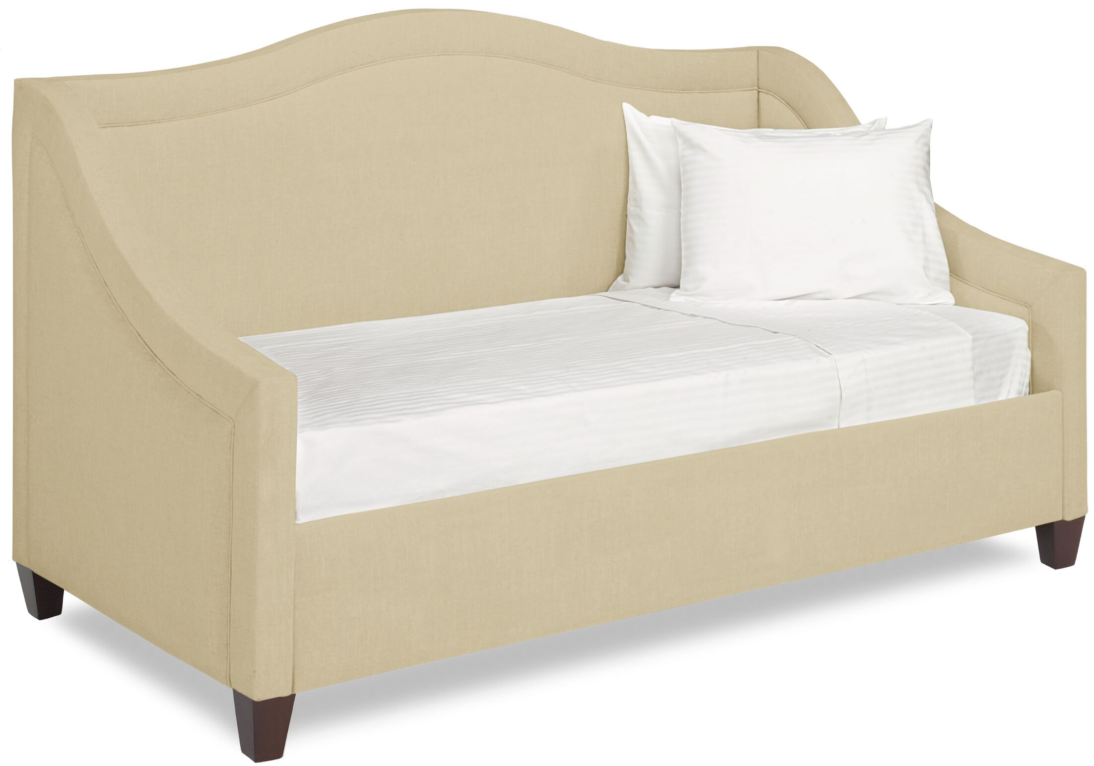 Dreamtime Daybed with Mattress Size: Twin, Color: Beige